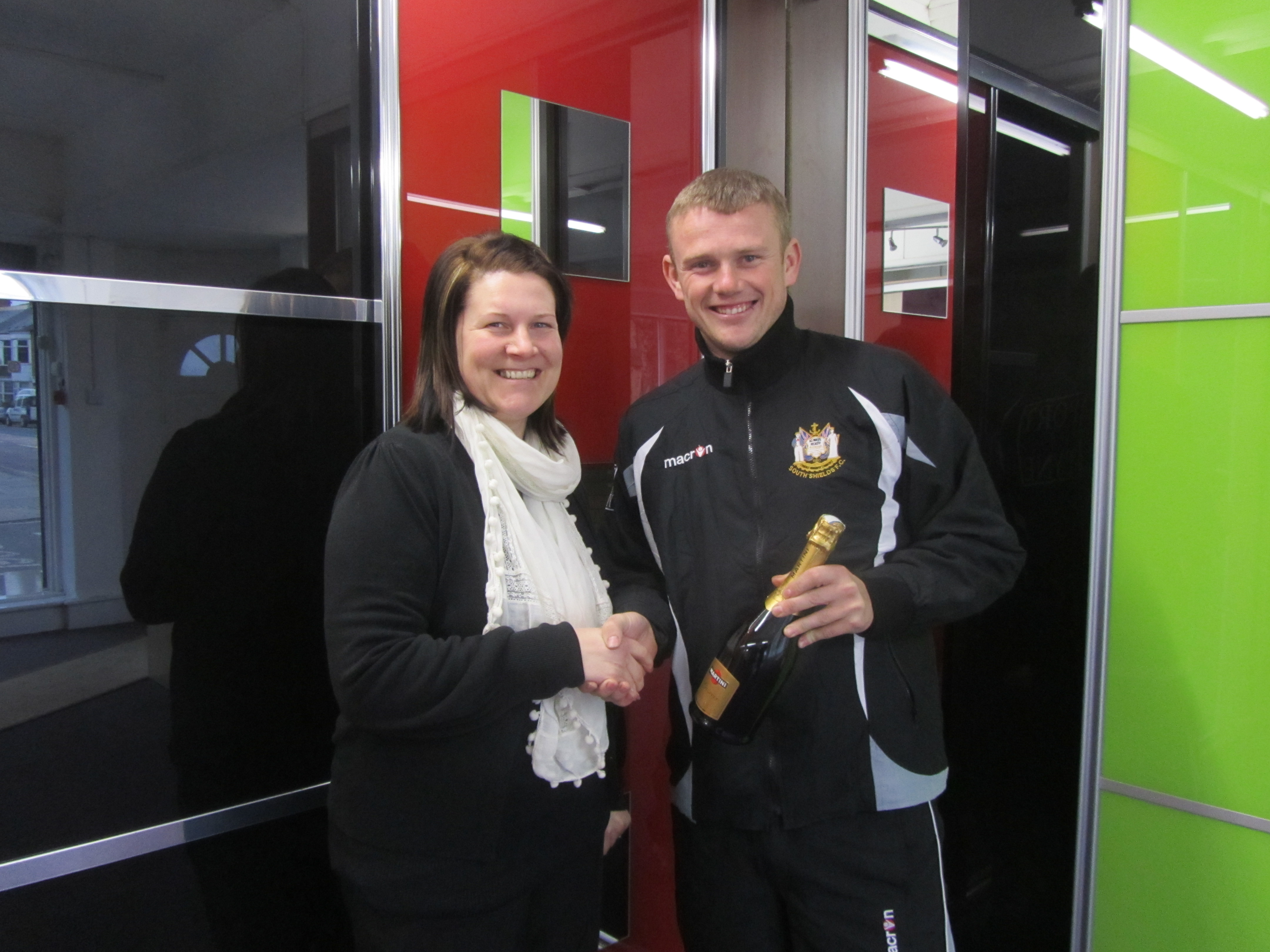 James Winter – Player of the Month February 2013