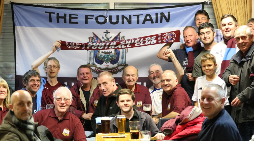 south shields fans at whickham
