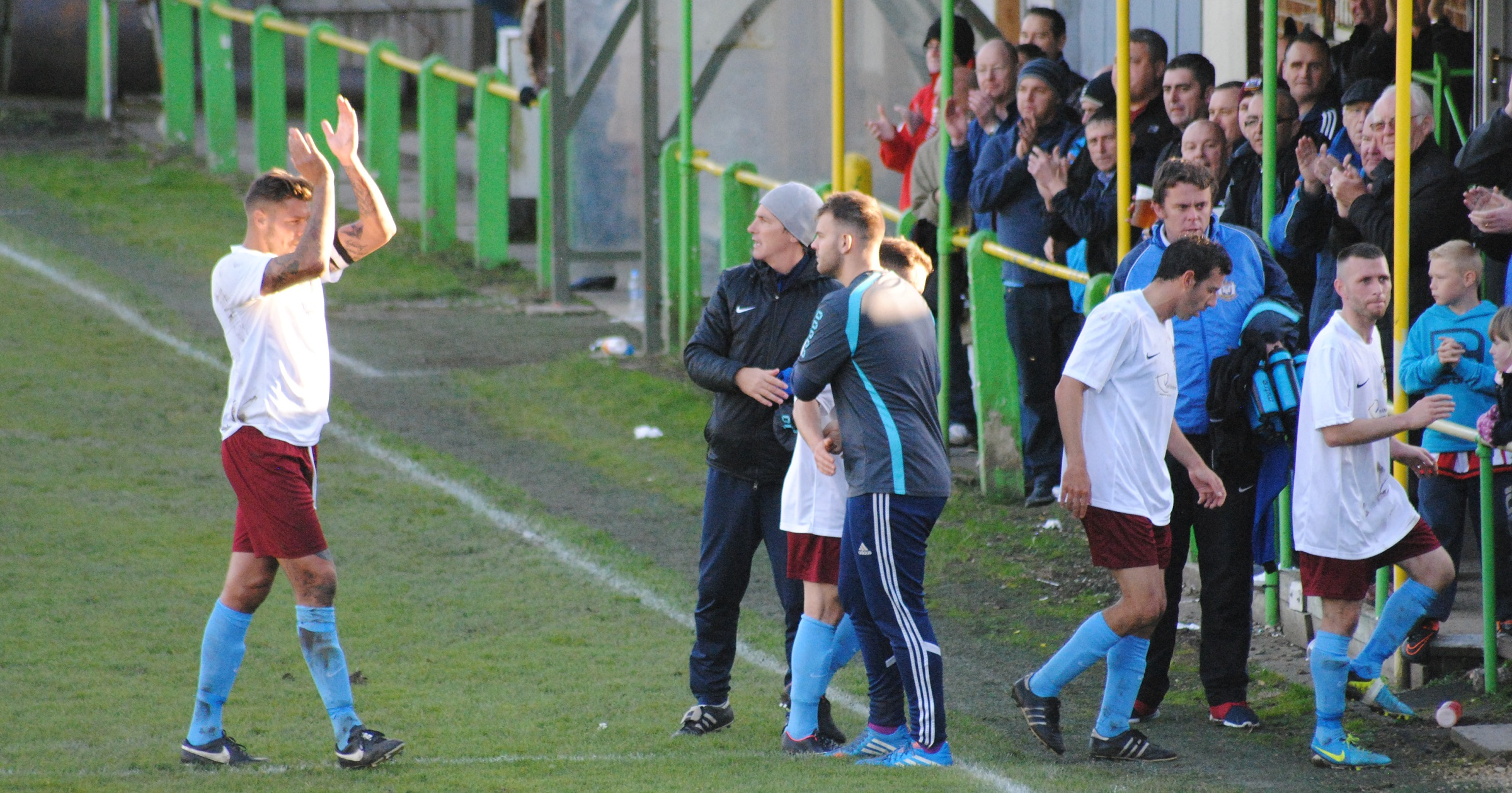 In Pictures: Esh Winning 0-4 South Shields