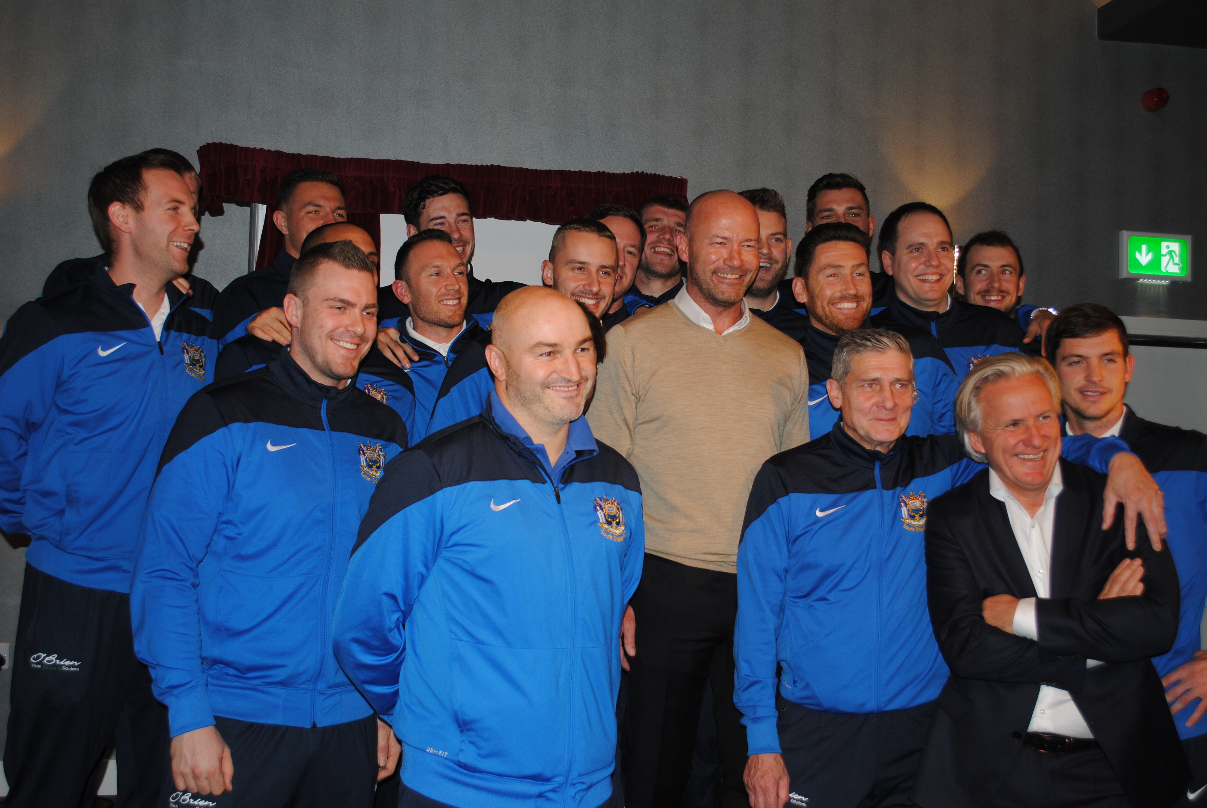 Alan Shearer OBE launches opening weekend of Mariners Park