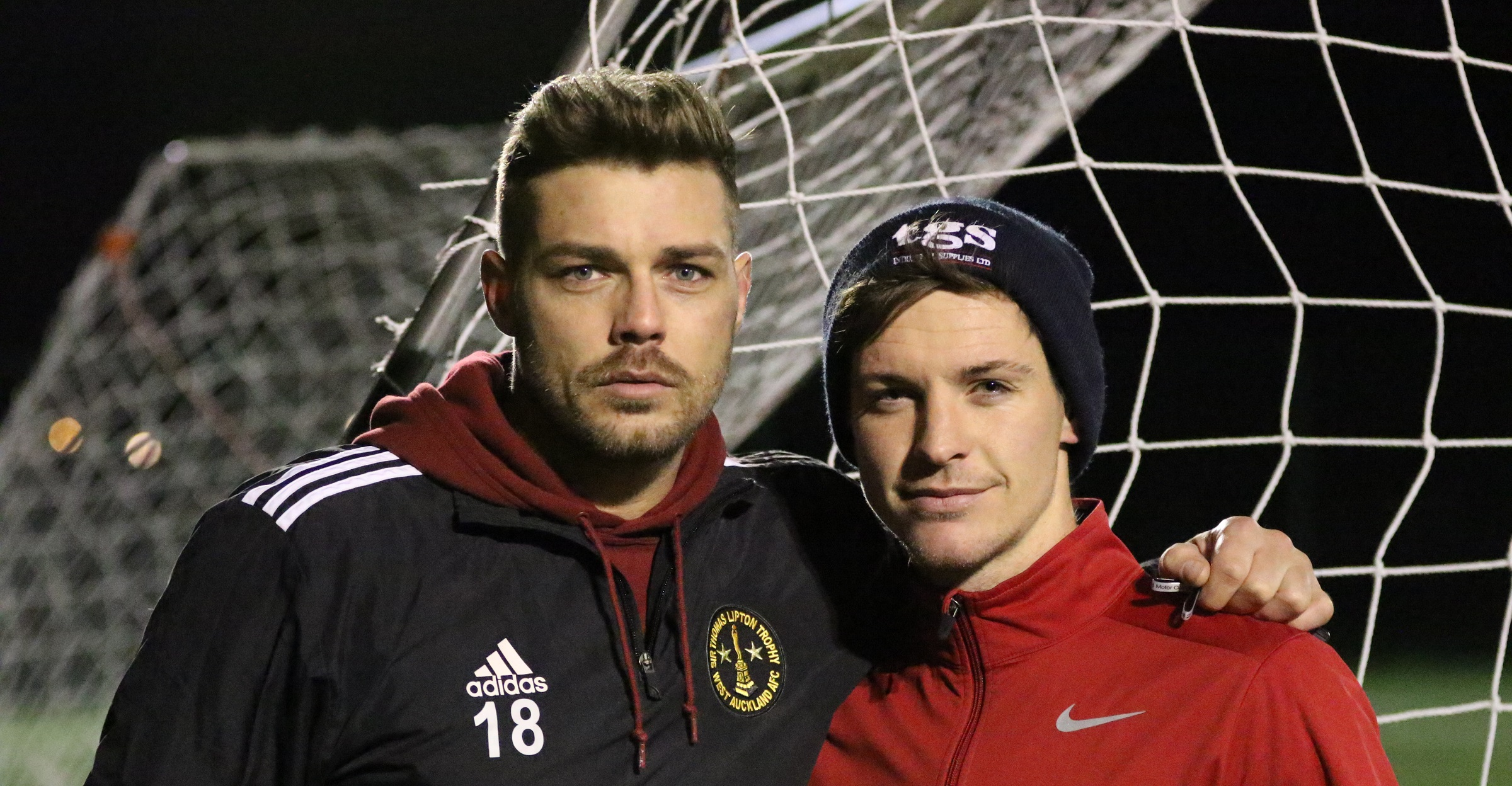 Ben Riding and Daryll Hall win Player of the Month awards