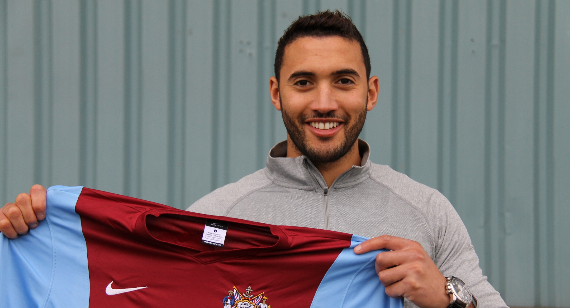 Ibby Hassan joins South Shields from Whitby Town