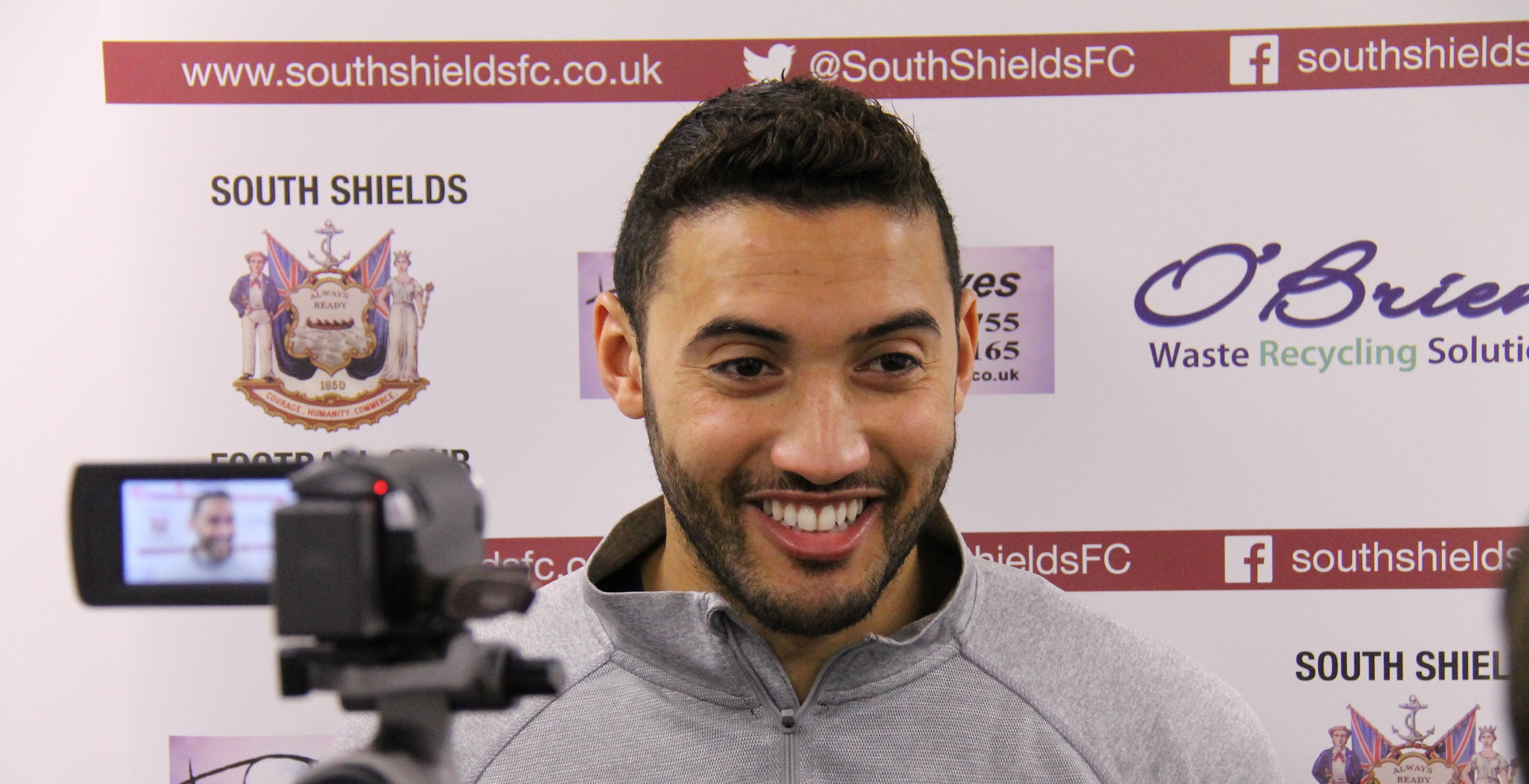 VIDEO: Ibby excited by what lies ahead at Shields