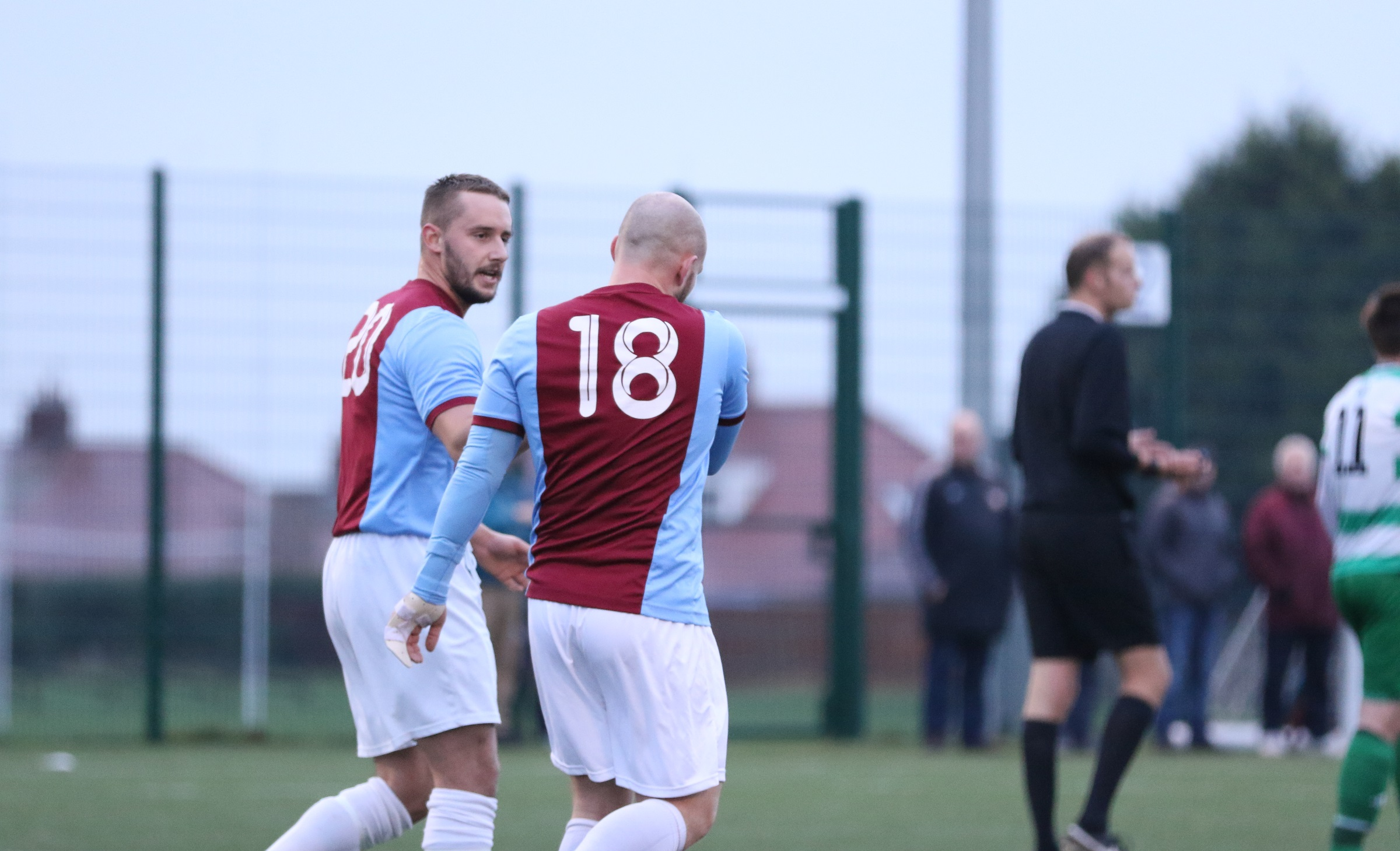 VIDEO: King and Teasdale reflect on West Allotment Celtic workout