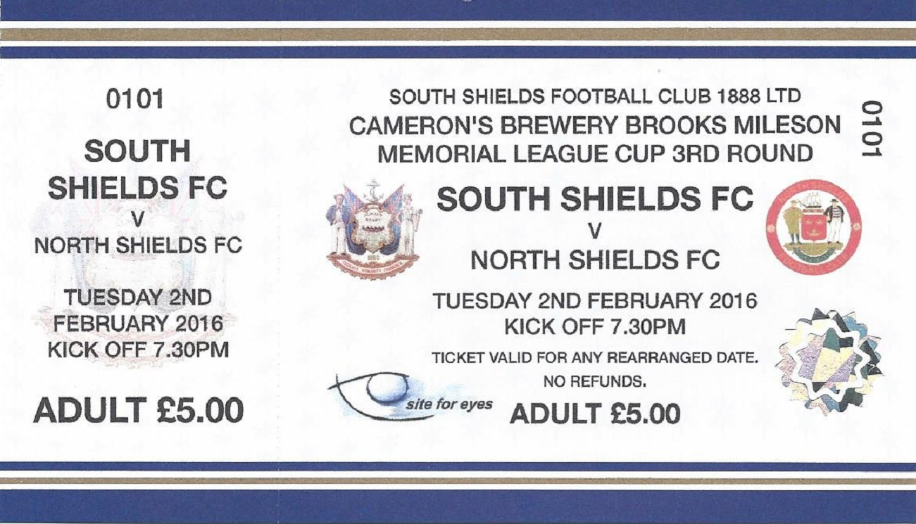 Tickets for League Cup derby with North Shields on sale