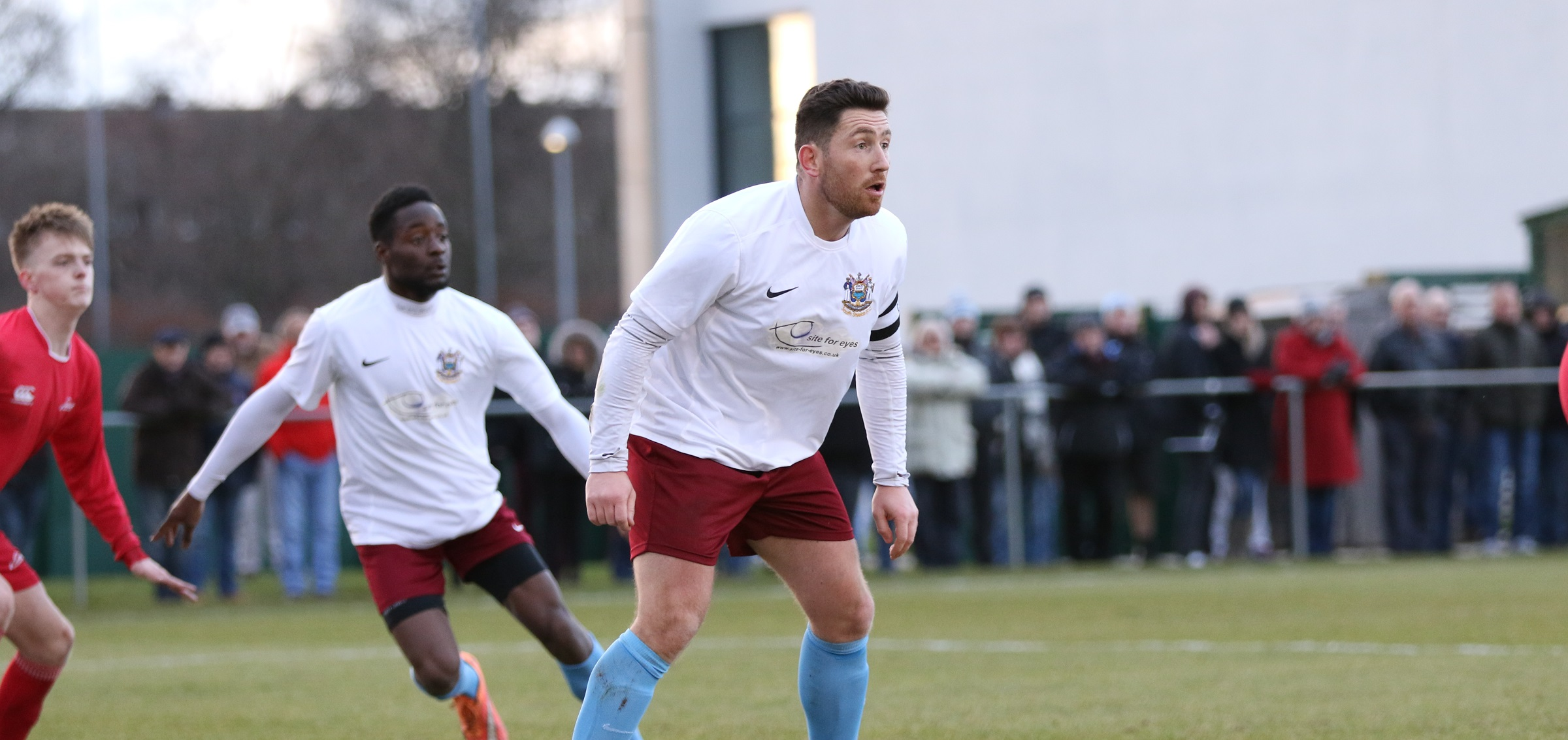 VIDEO: Leepaul Scroggins delighted to be back after helping Shields to vital win