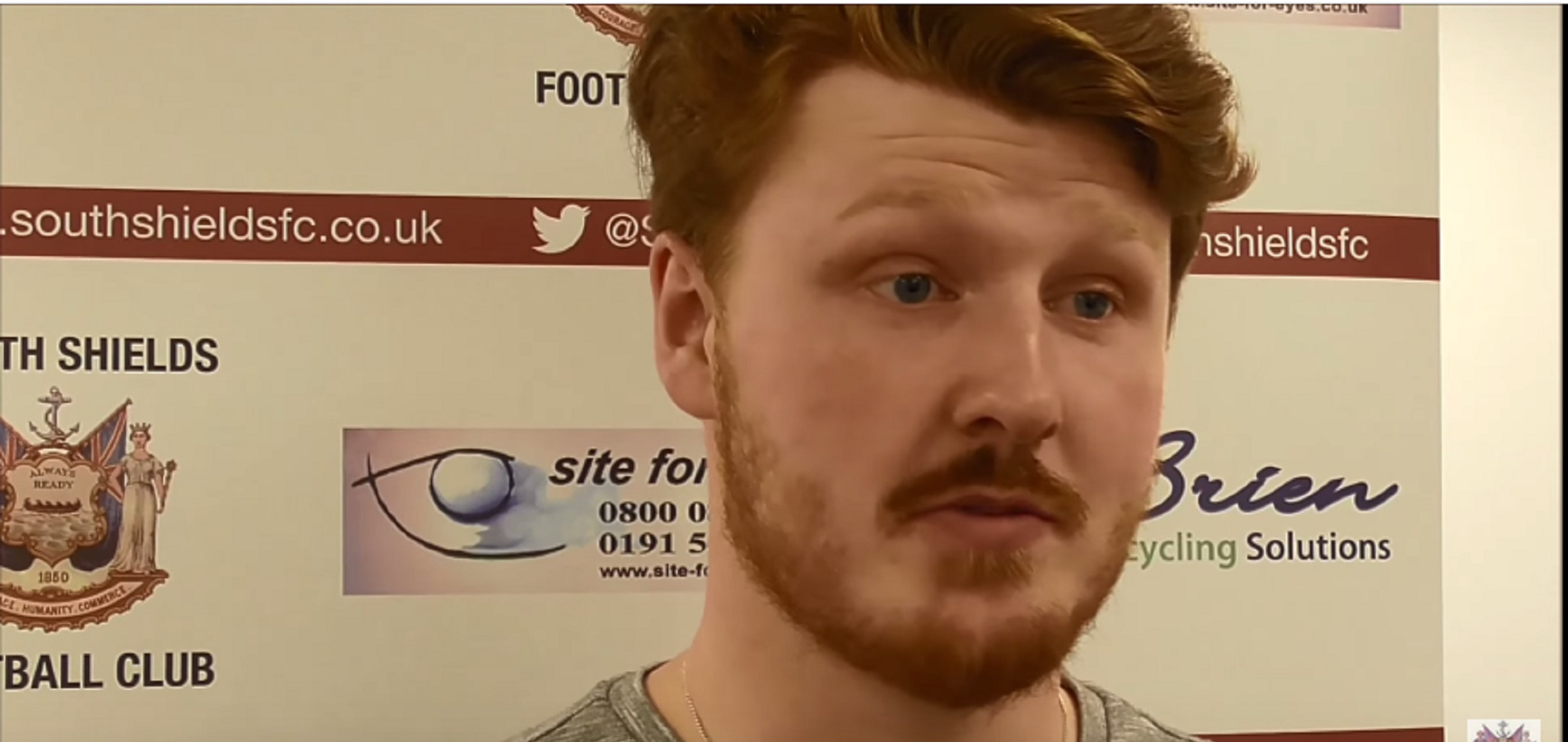 VIDEO: Dale Connor satisfied with win and clean sheet on Shields debut