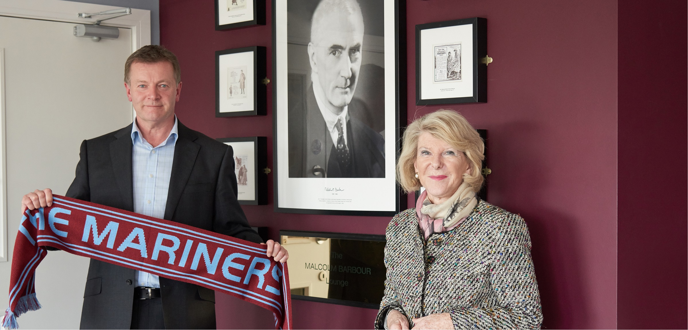 Dame Margaret Barbour opens Malcolm Barbour Lounge at Mariners Park