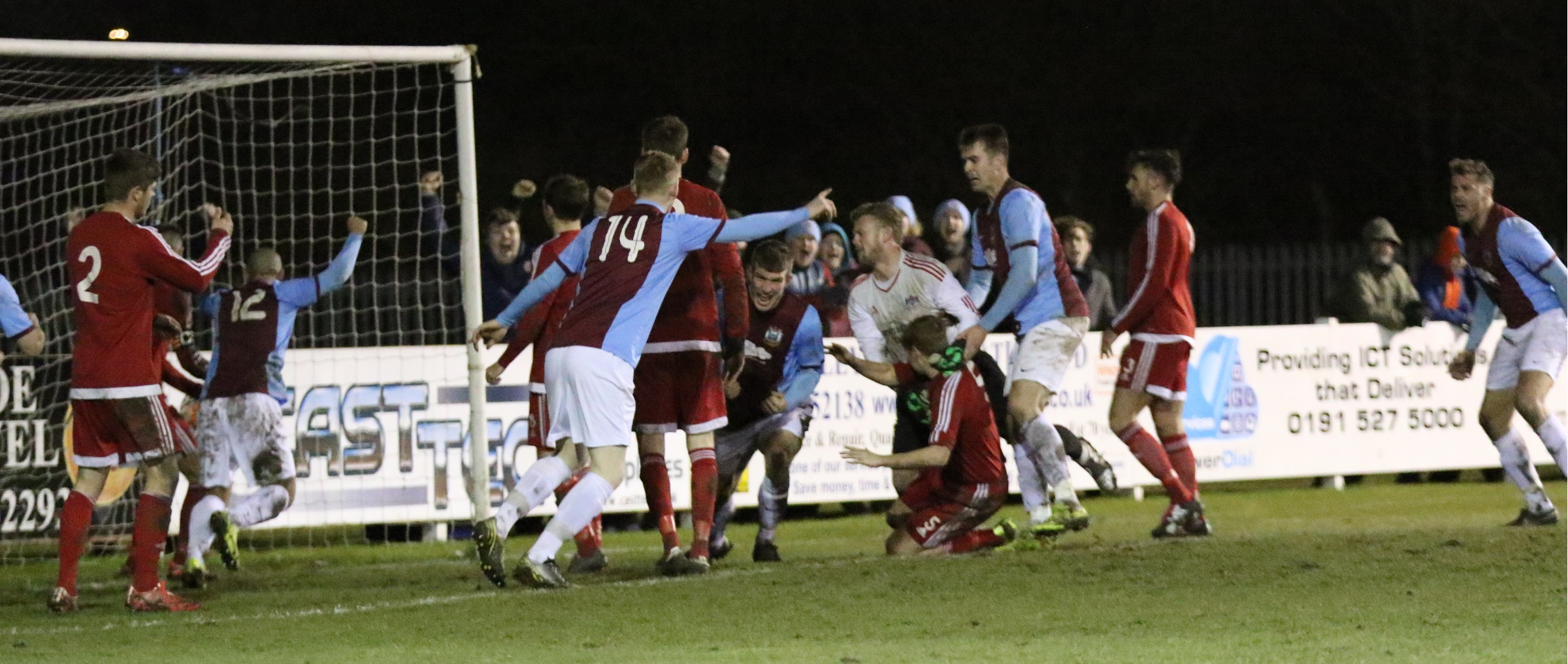 South Shields 2-2 Newton Aycliffe (1-3 on penalties)