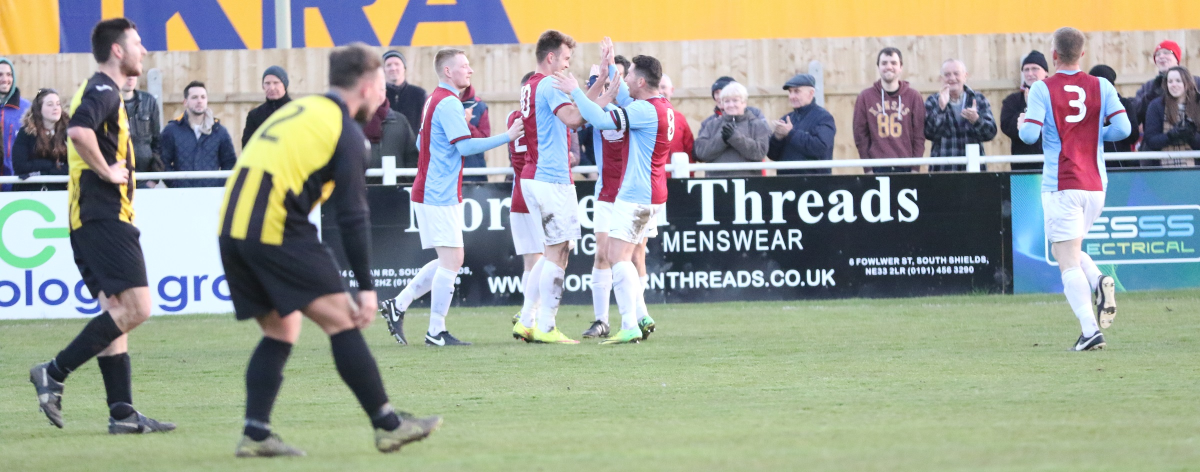 HIGHLIGHTS AND IMAGES: South Shields 2-0 Hebburn Town