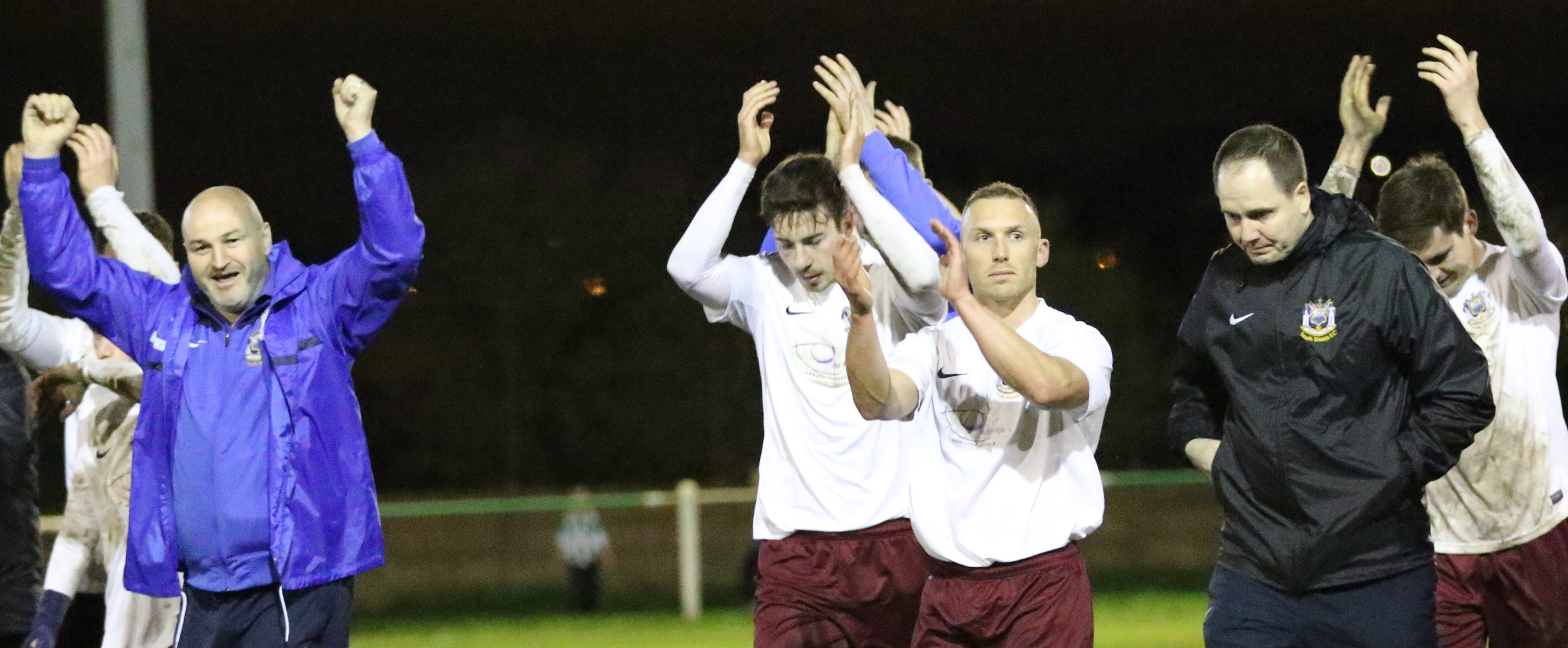 VIDEO: Manager King pays tribute to unsung heroes after promotion secured