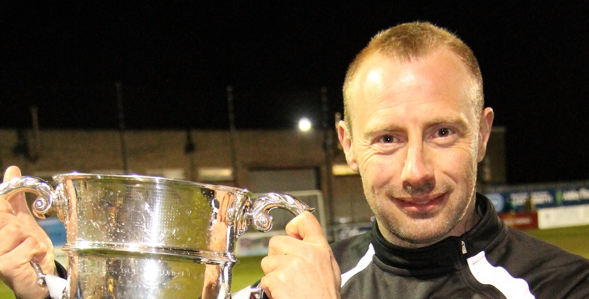 VIDEO: Mark Scott reflects on 'family' club Shields after lifting title