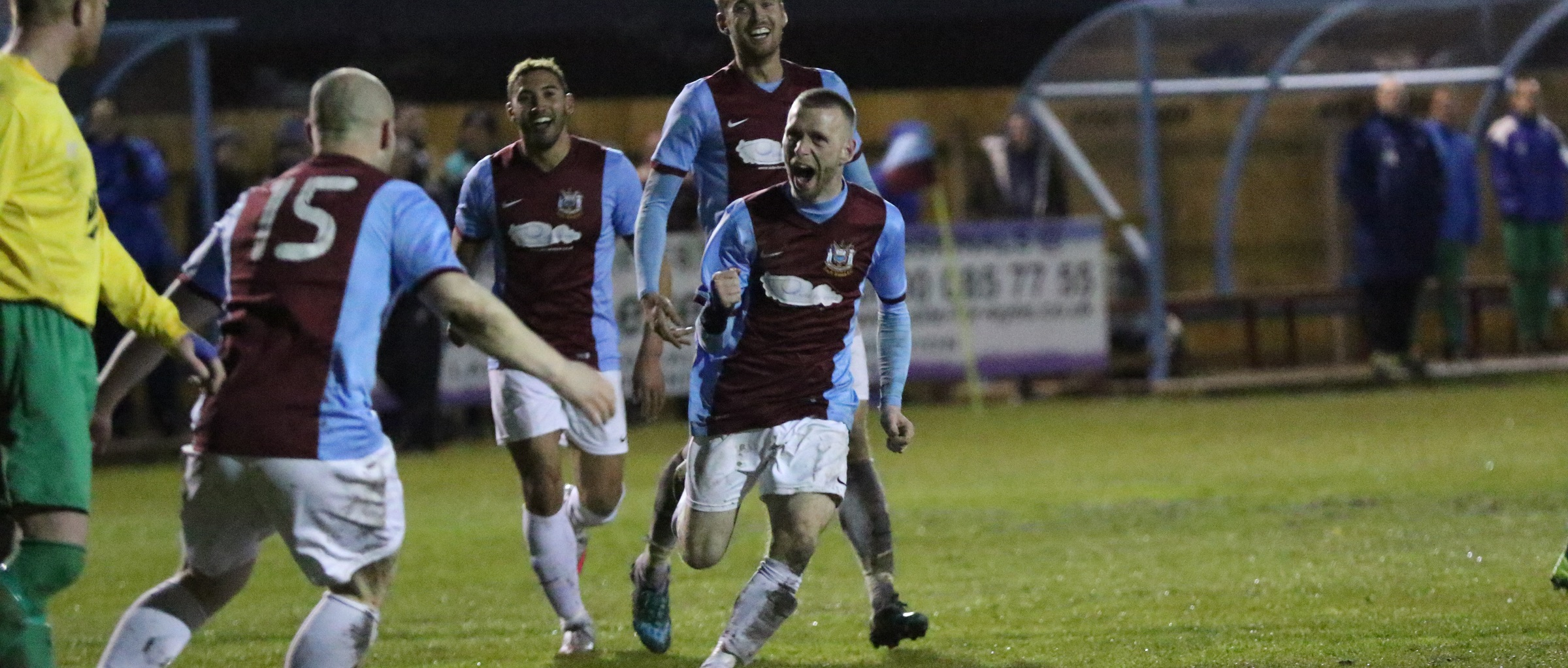 VIDEO: Barrie Smith 'chuffed' after stunning goal before lifting league trophy