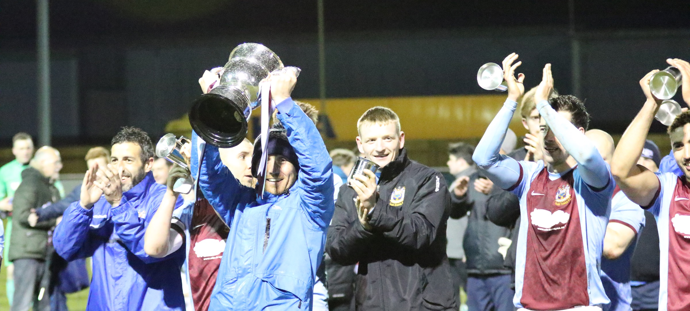 In Pictures: South Shields 5-1 Willington – Mariners lift title