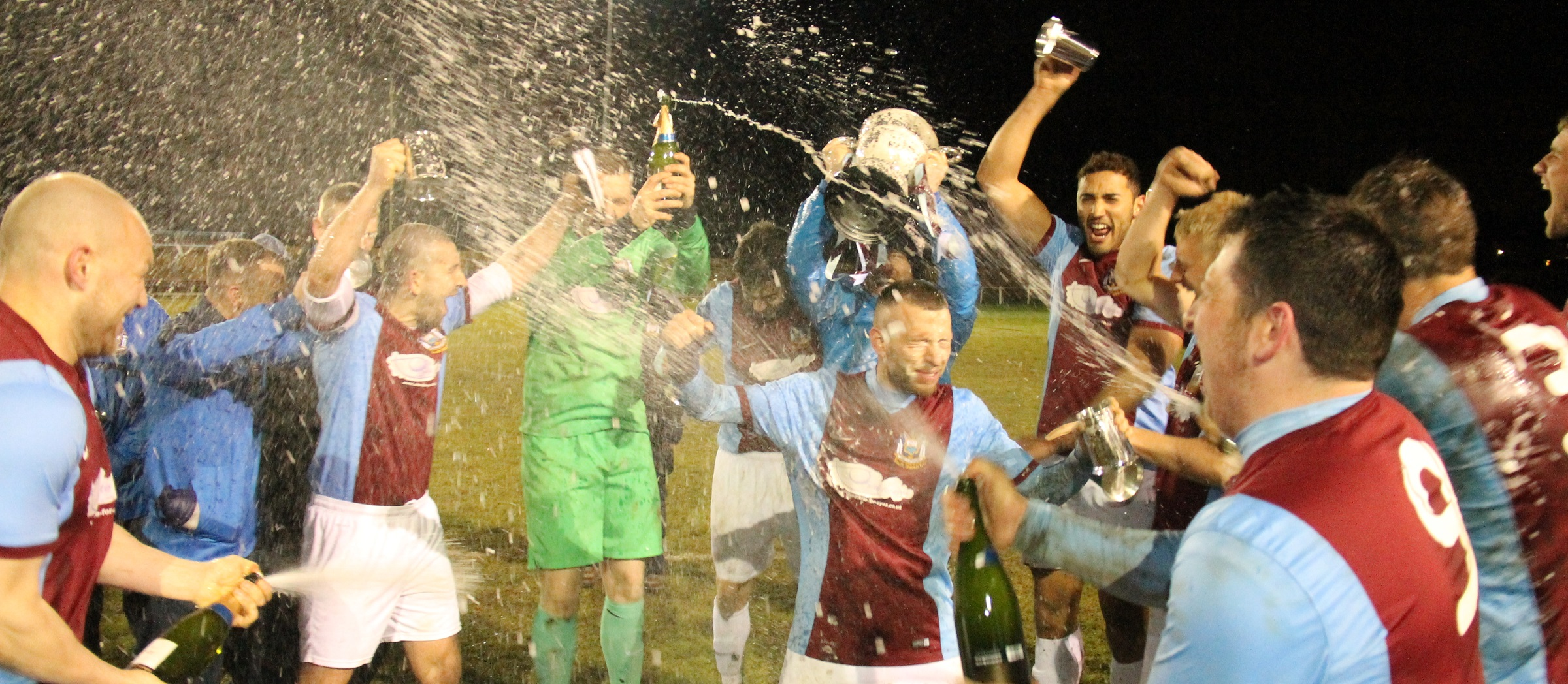 South Shields 5-1 Willington: Mariners lift league championship