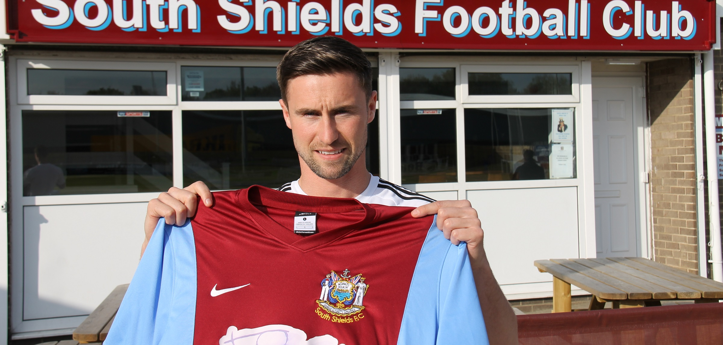 David Palmer agrees to join Mariners from Seaham Red Star