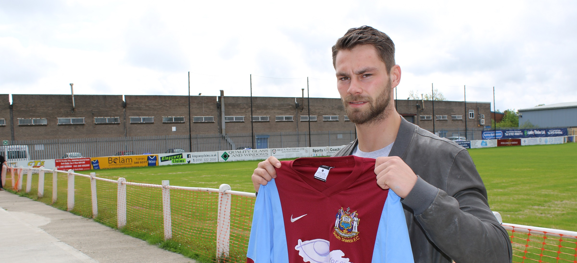 Matthew Wade agrees to join South Shields from Blyth Spartans