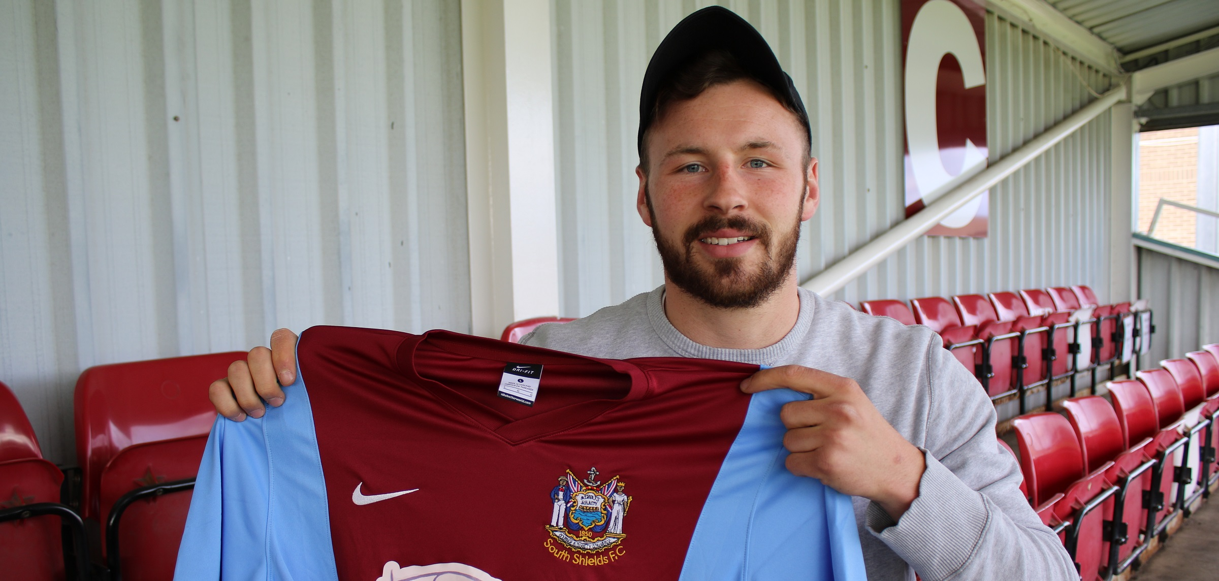 Defender Louis Storey joins Mariners from Team Northumbria