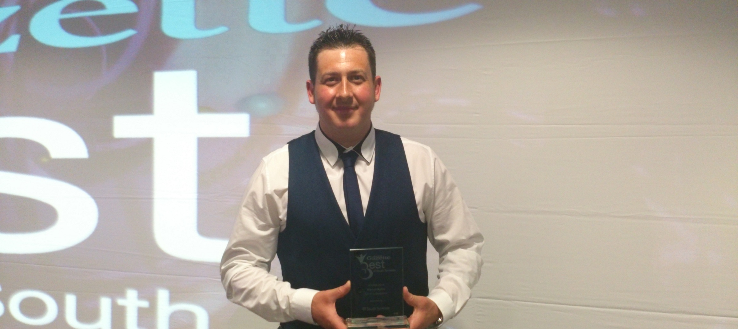 Warren Byrne wins Sporting Excellence award at Best of South Tyneside Awards