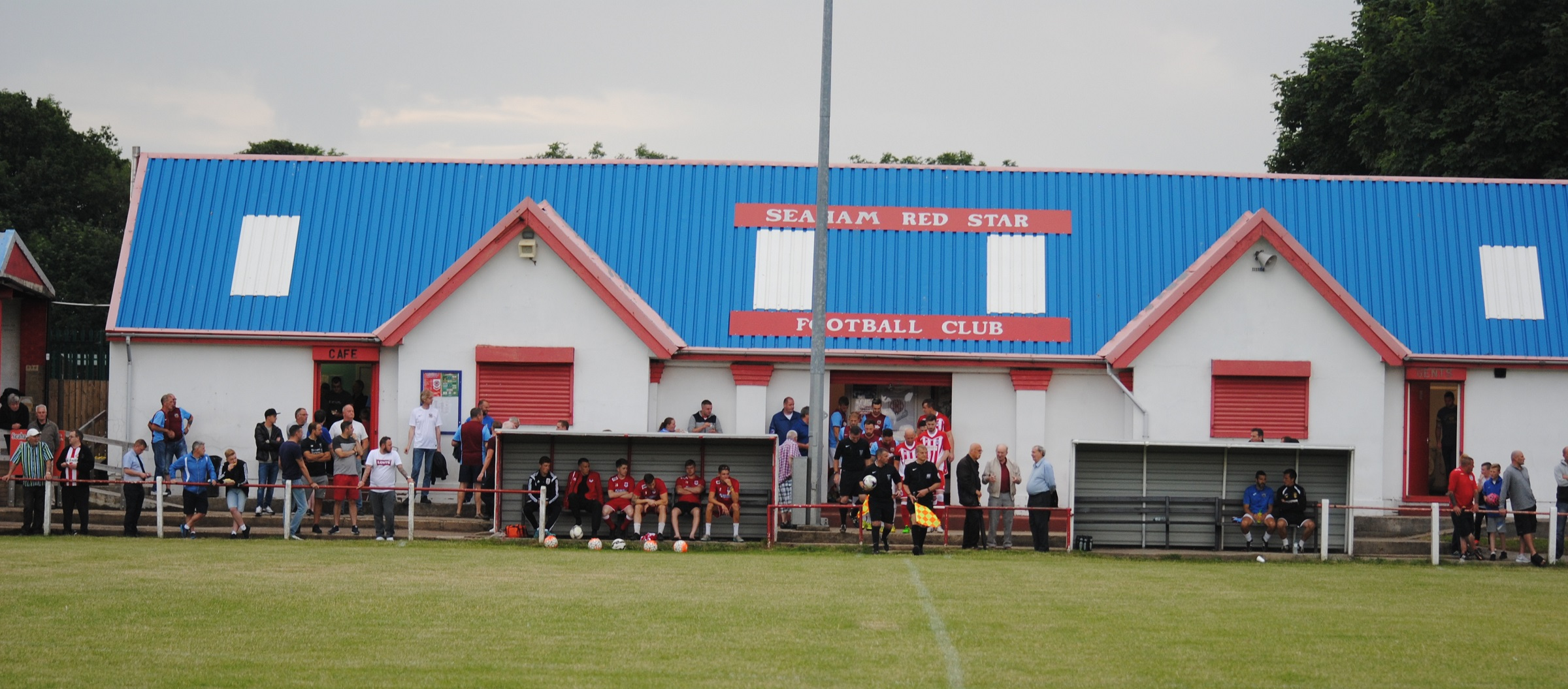 Seaham Red Star vs South Shields