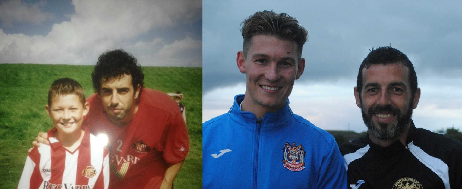 Dillon Morse and Julio Arca recreate THAT photo…11 years on