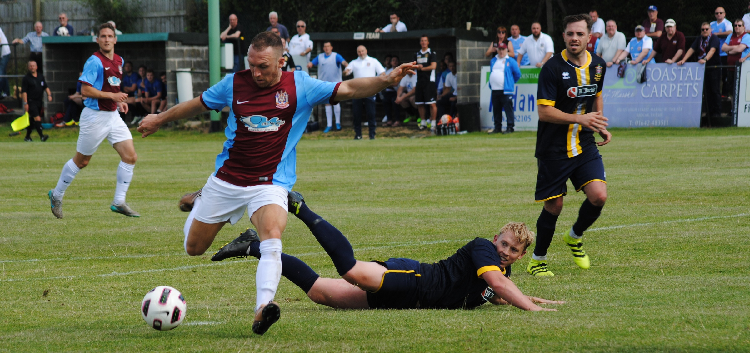 Marske United 3-1 South Shields: Mariners out of FA Cup
