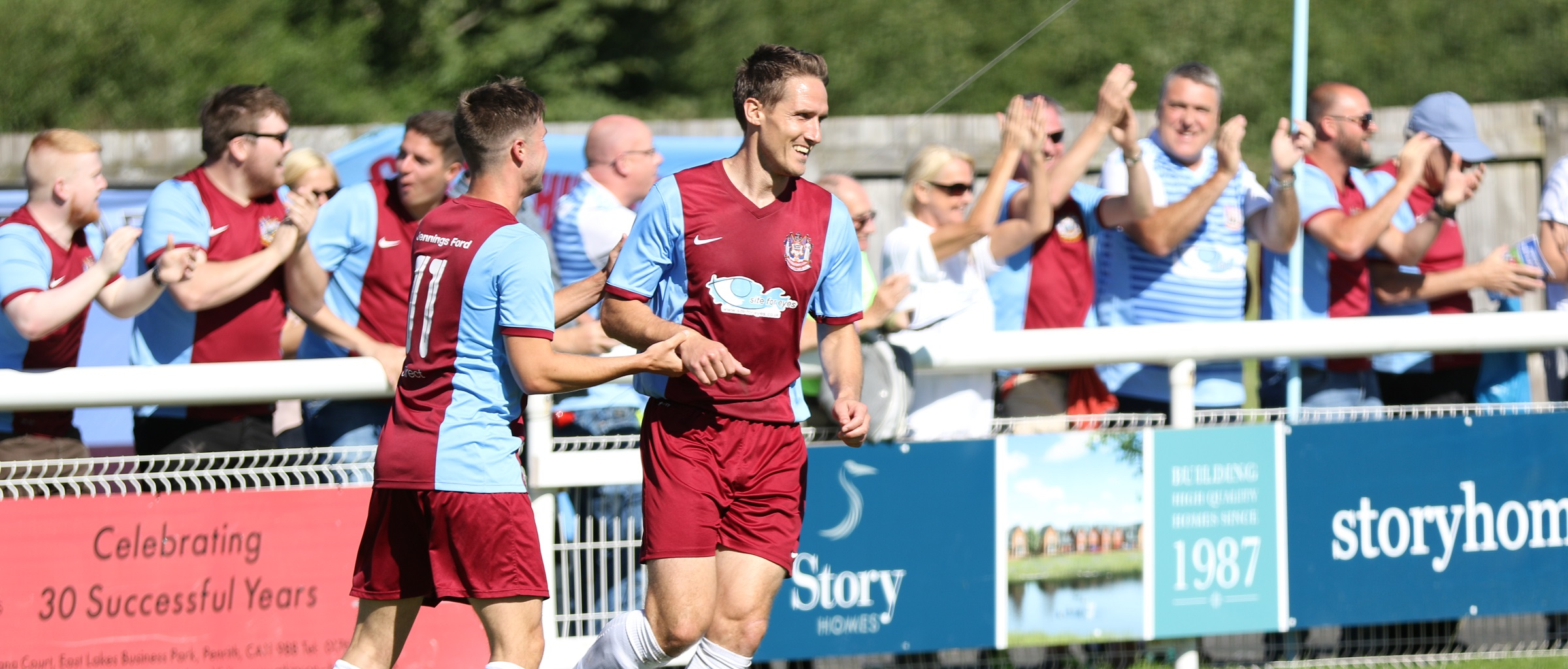 Penrith 0-2 South Shields: Carson and Shaw secure win