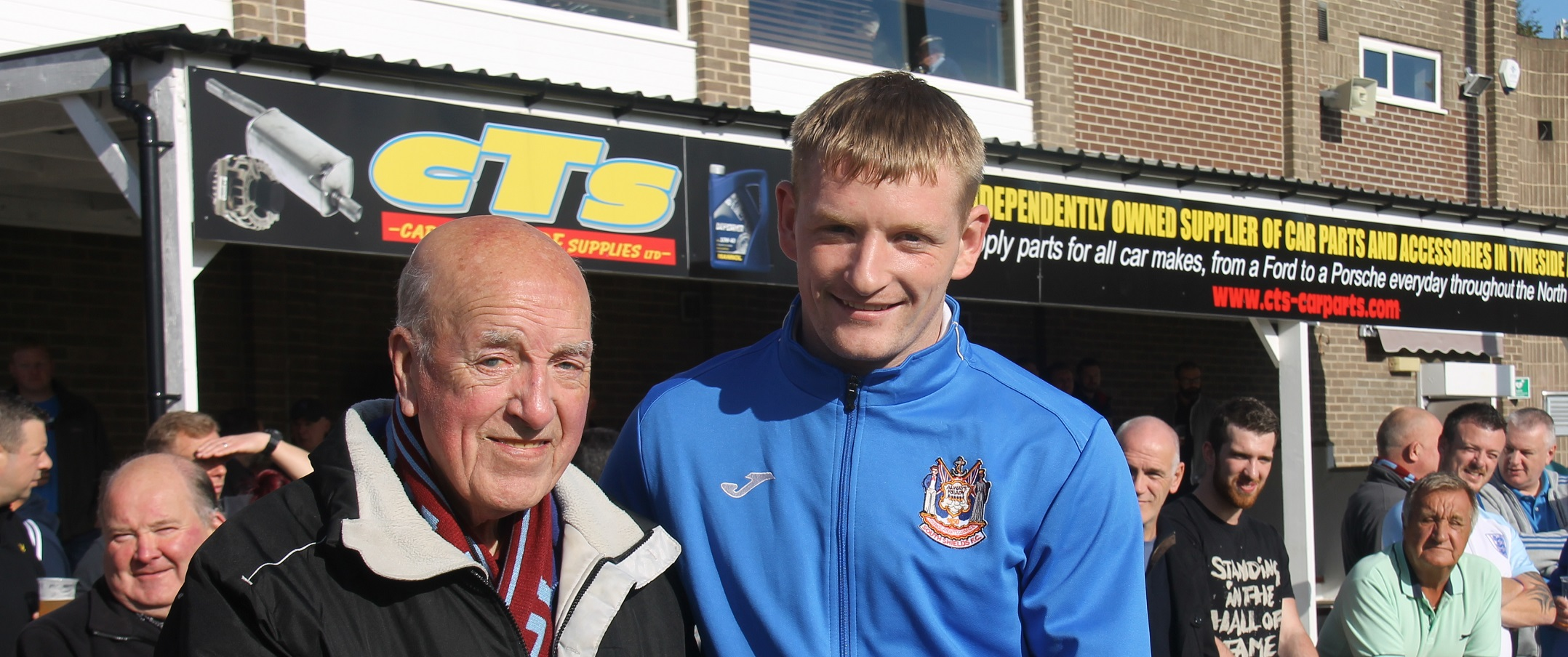 Presentation for Stephen Ramsey following 300th appearance