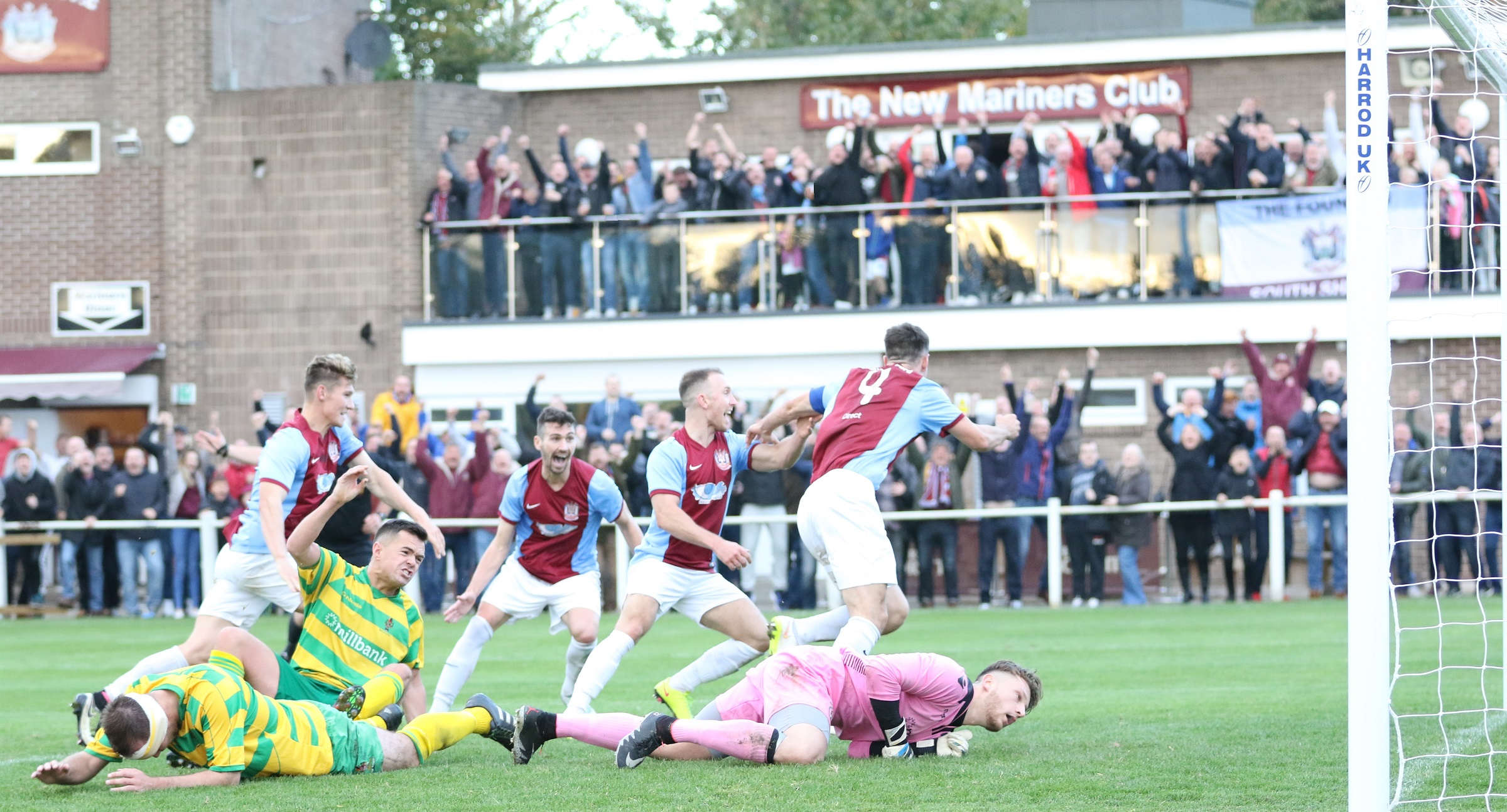 South Shields 2-1 Runcorn Linnets: Stoppage time winner seals FA Vase win