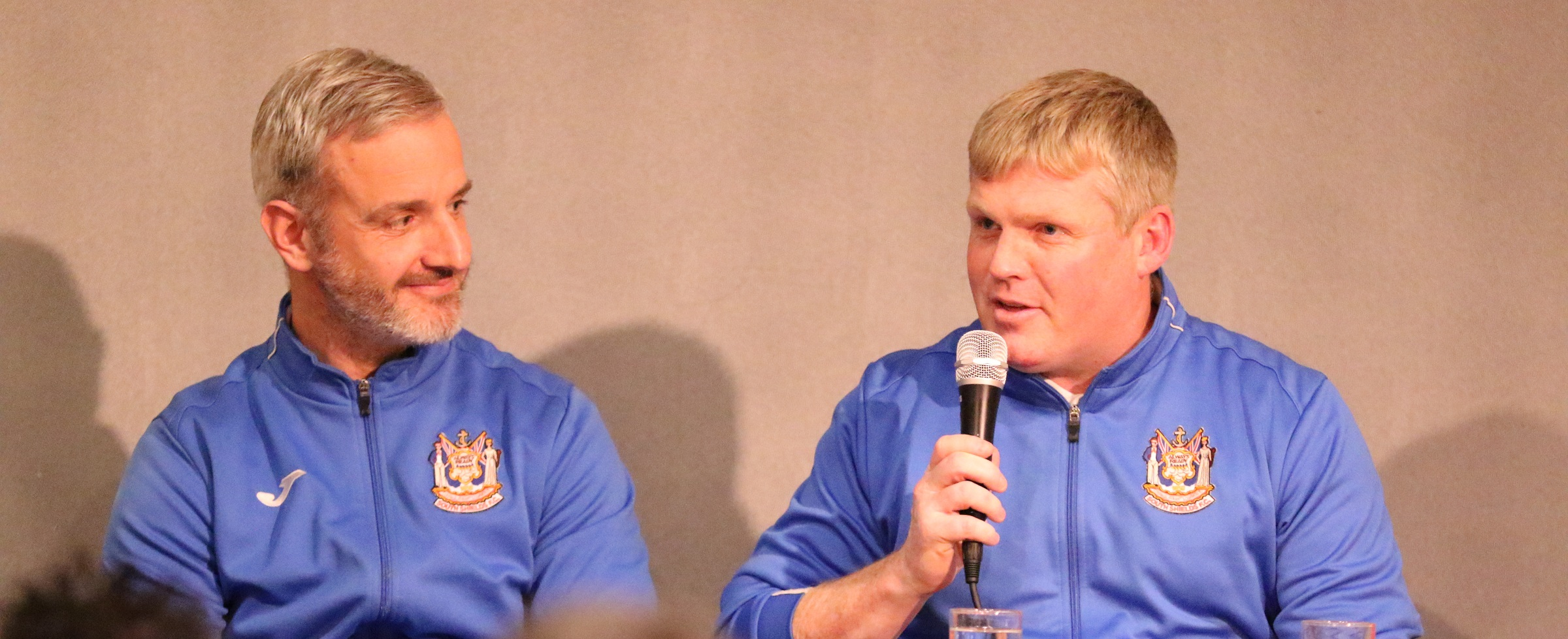 Management and players to appear at question and answer session