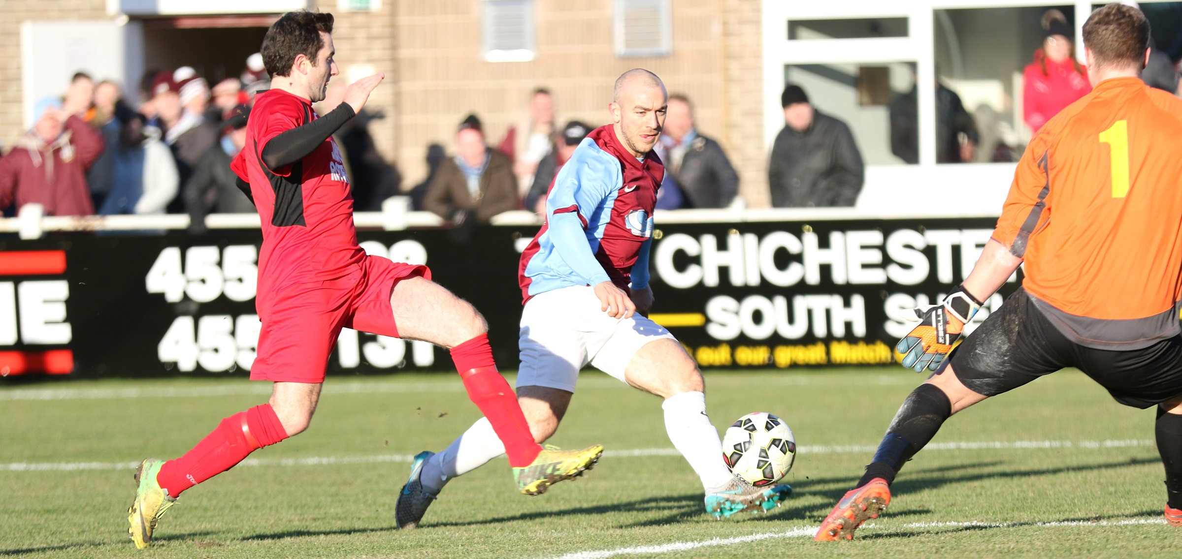South Shields 2-1 Jarrow Roofing: Mariners through in Durham Challenge Cup
