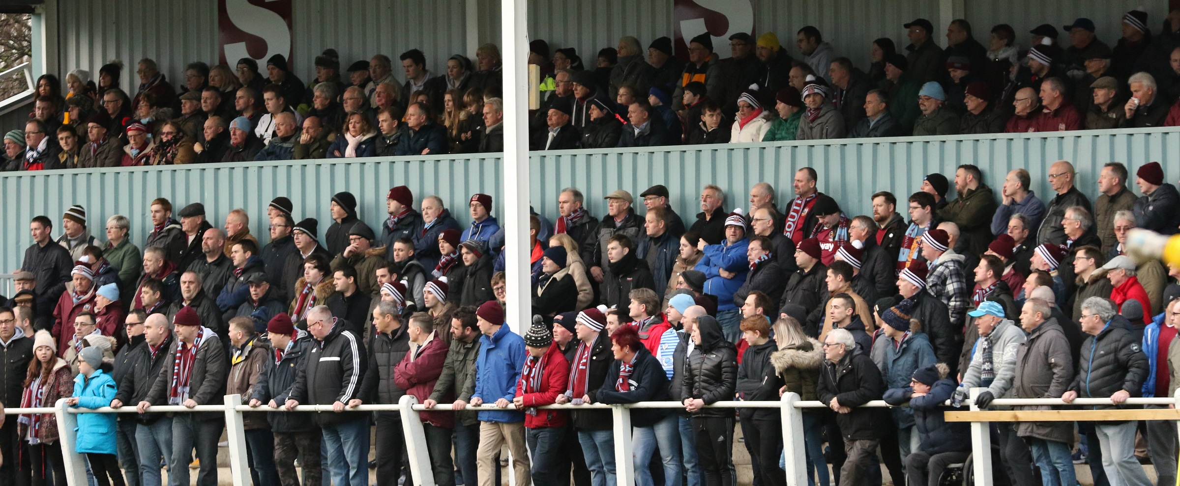 FA Vase quarter-final is a sell-out at Mariners Park
