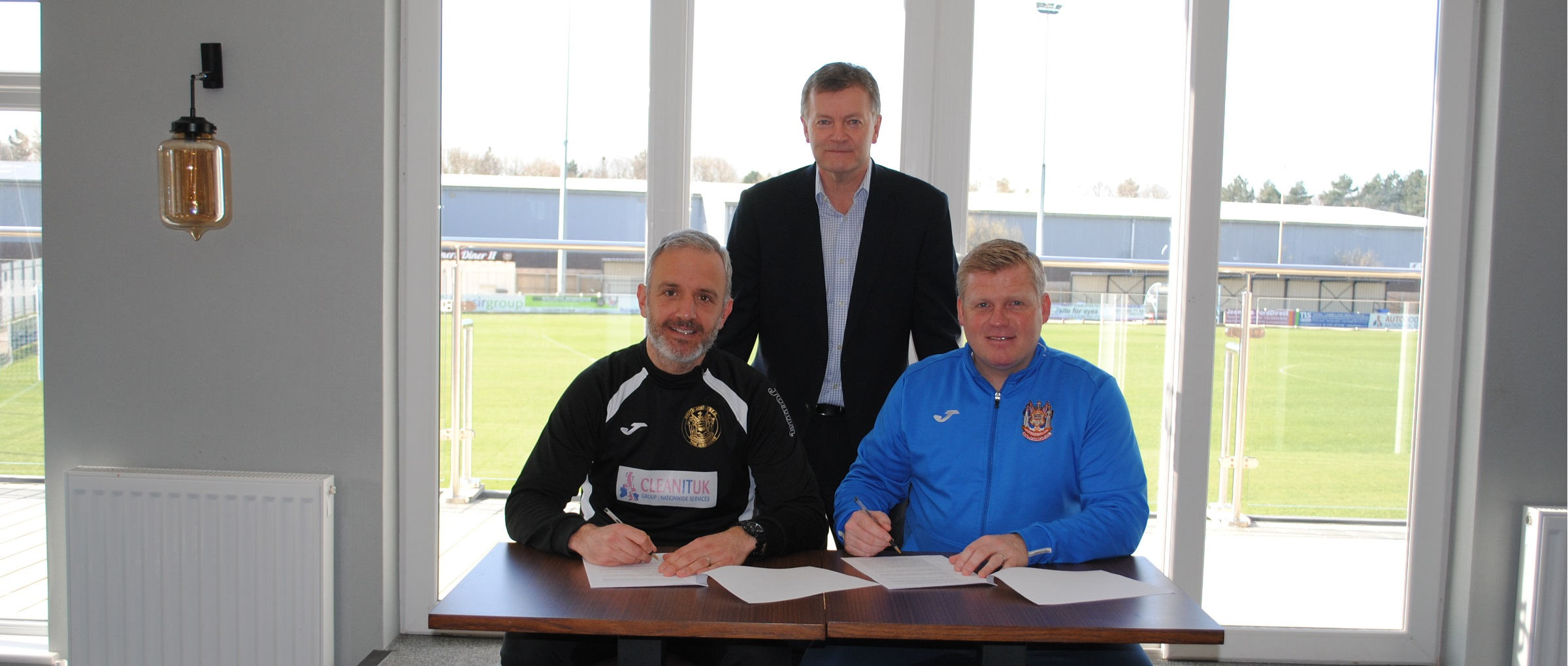 Lee Picton and Graham Fenton sign new two-year contracts