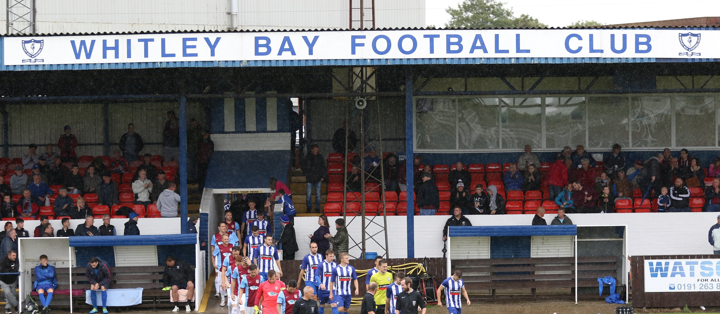 Northern League Cup derby to take place at Whitley Bay's Hillheads