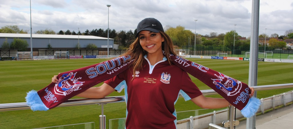 Little Mix Star Jade Thirlwall S Special Visit To Mariners Park South Shields Fc