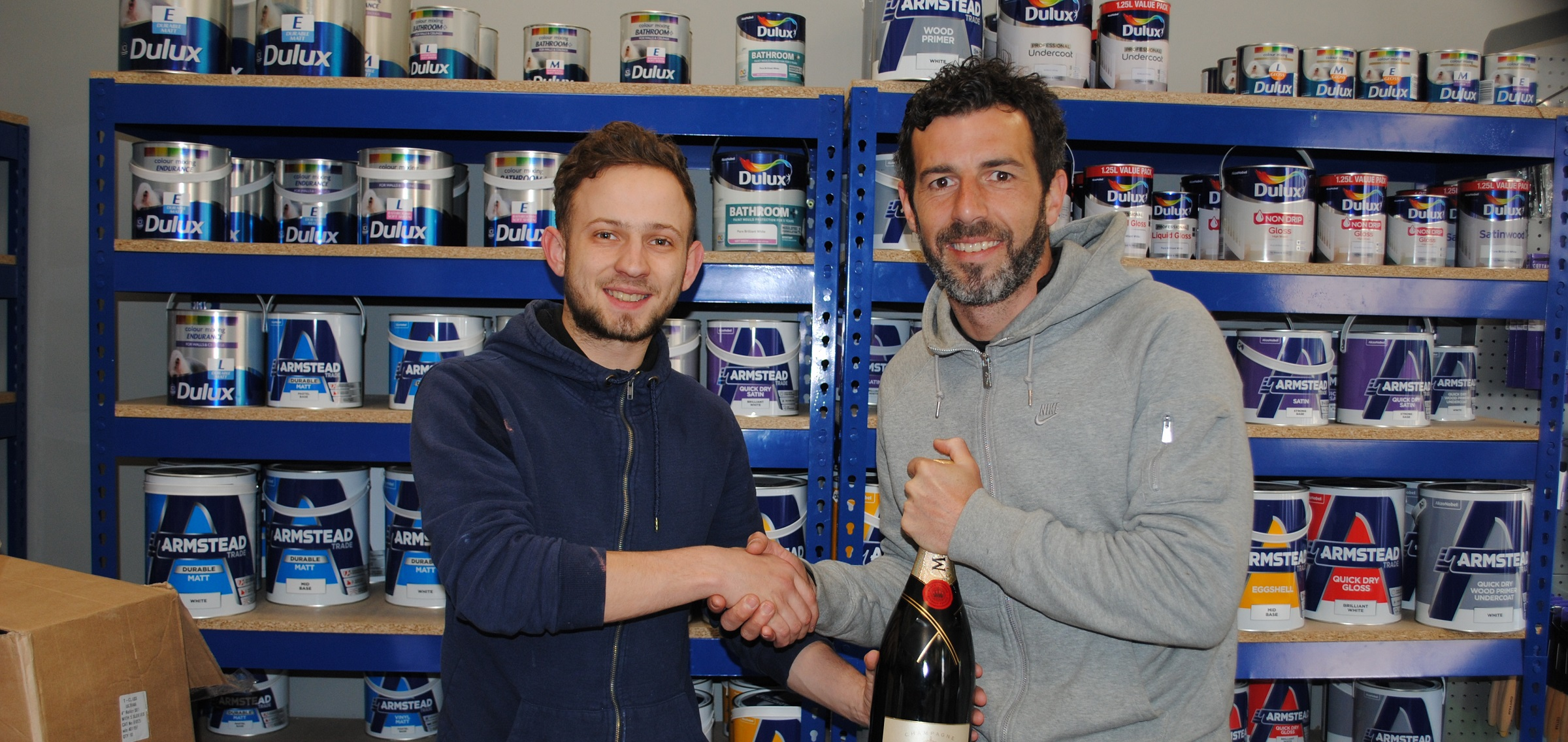 Julio Arca named Shaun Matthias Player of the Month for March