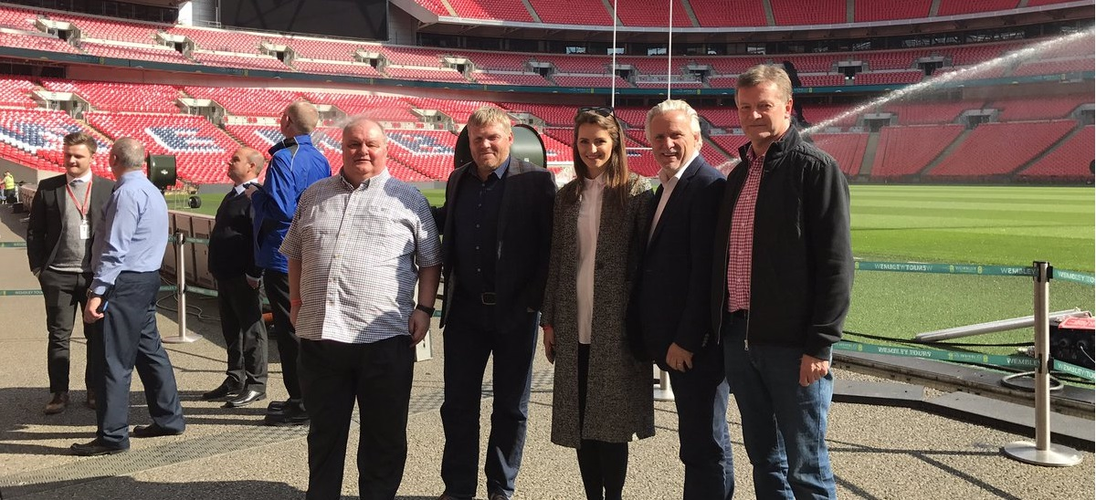 Mariners visit Wembley for first time as FA Vase final plans stepped up