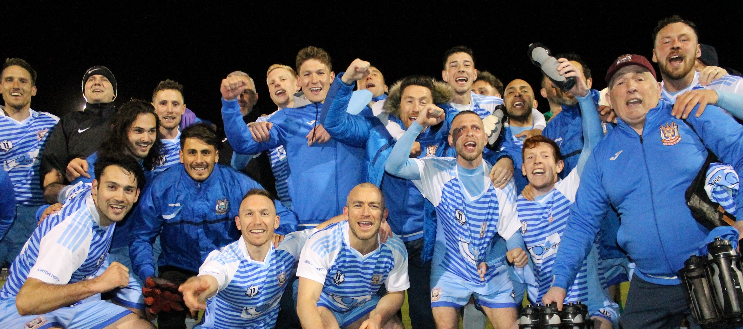Ashington 1-4 South Shields: Mariners win Northern League title