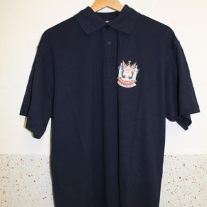 New polo shirt black