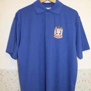 New polo shirt blue