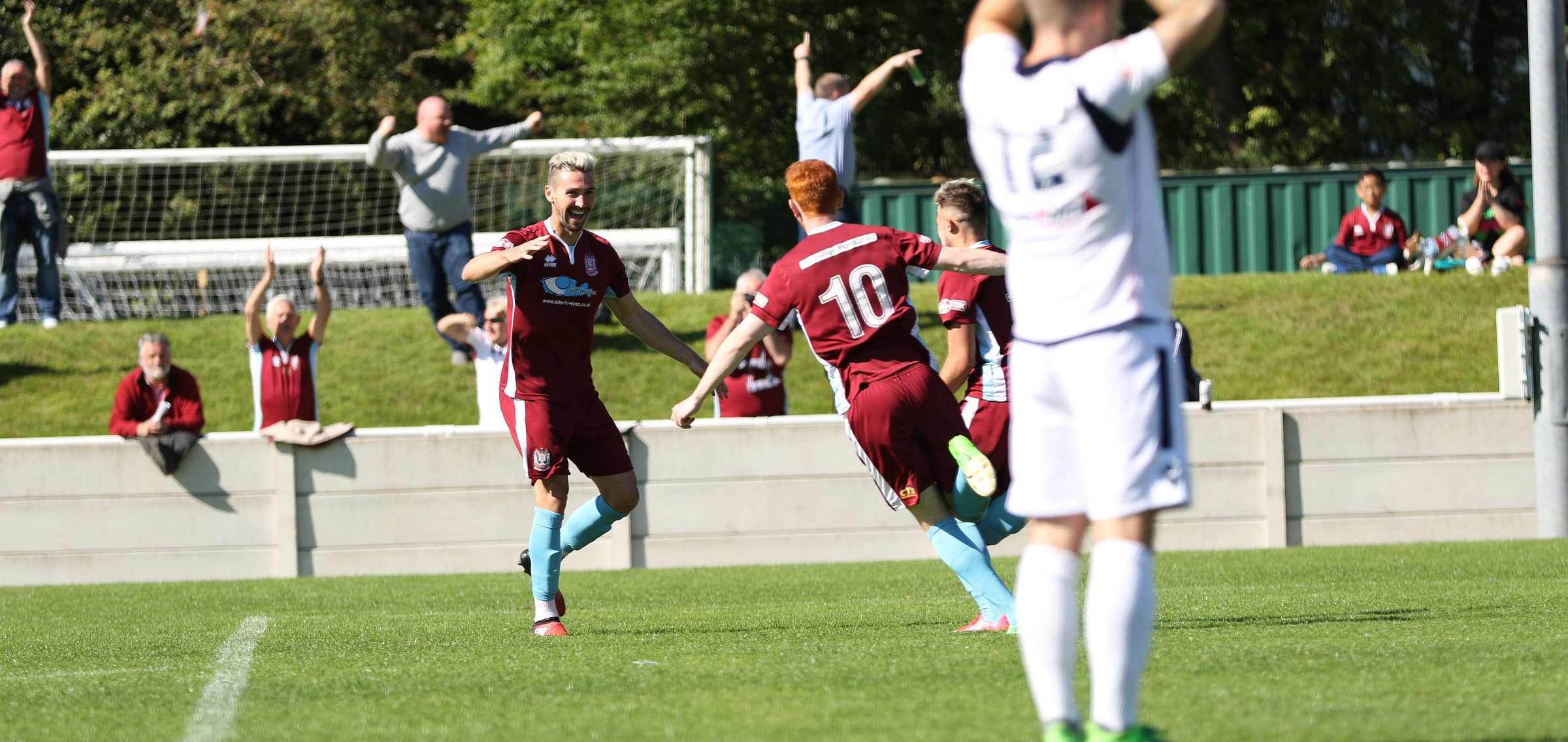 Trafford 1-2 South Shields: Tough win on opening day for Mariners