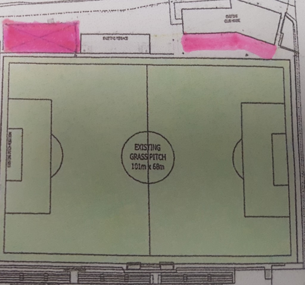 Designated drinking areas at Mariners Park