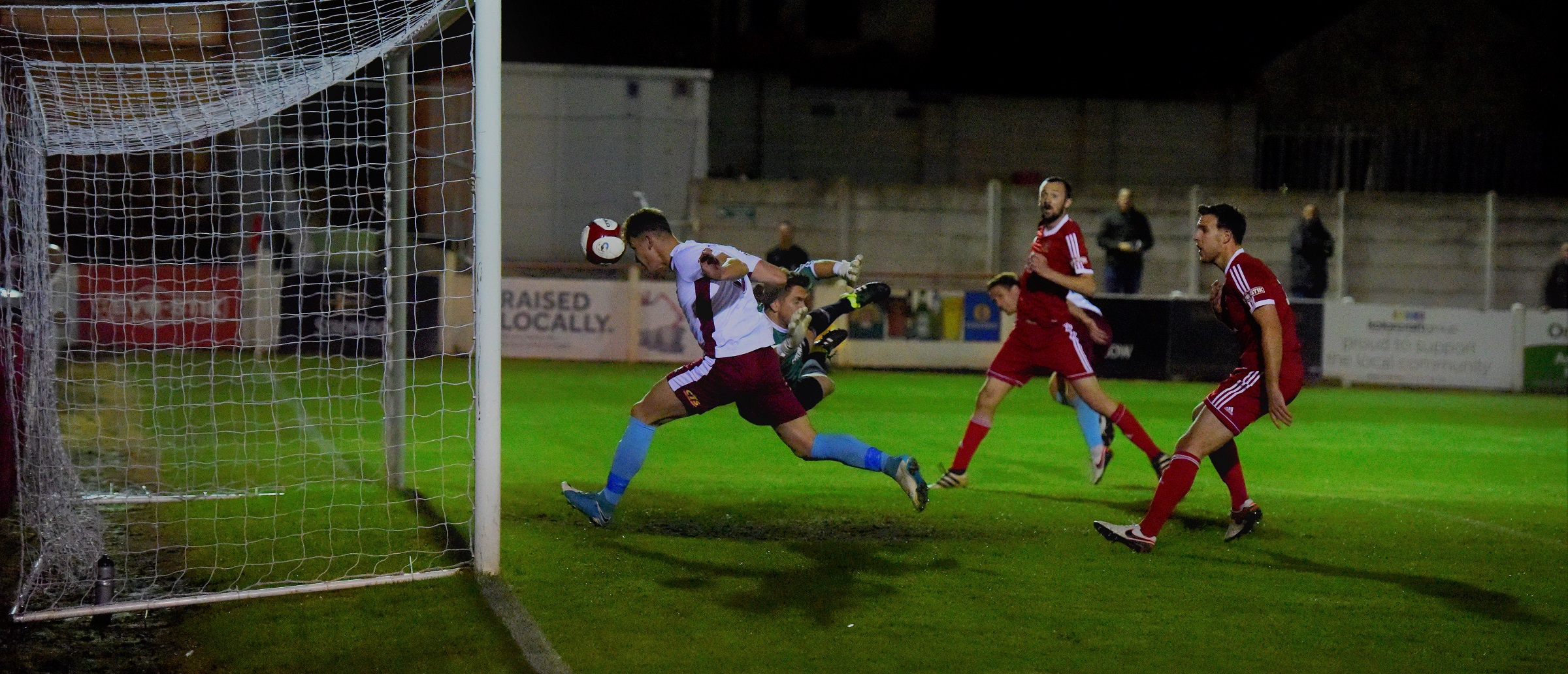 Ossett Town 0-2 South Shields: Mariners stay on top