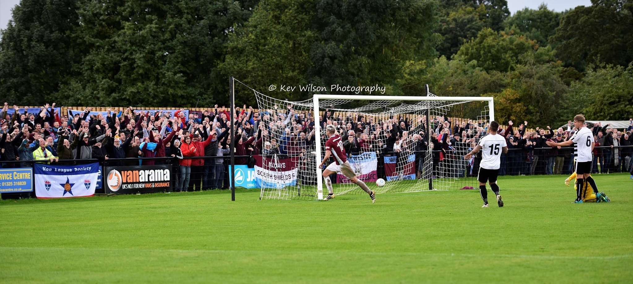 Darlington 0-3 South Shields: Terrific FA Cup triumph for Mariners