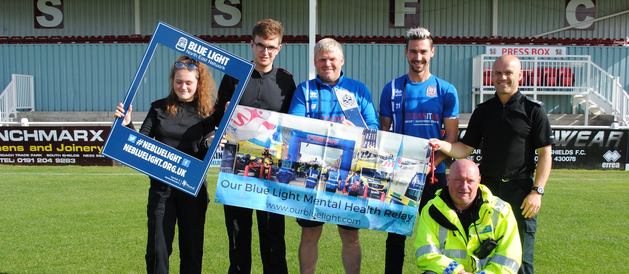 Club shows support for Our Blue Light campaign