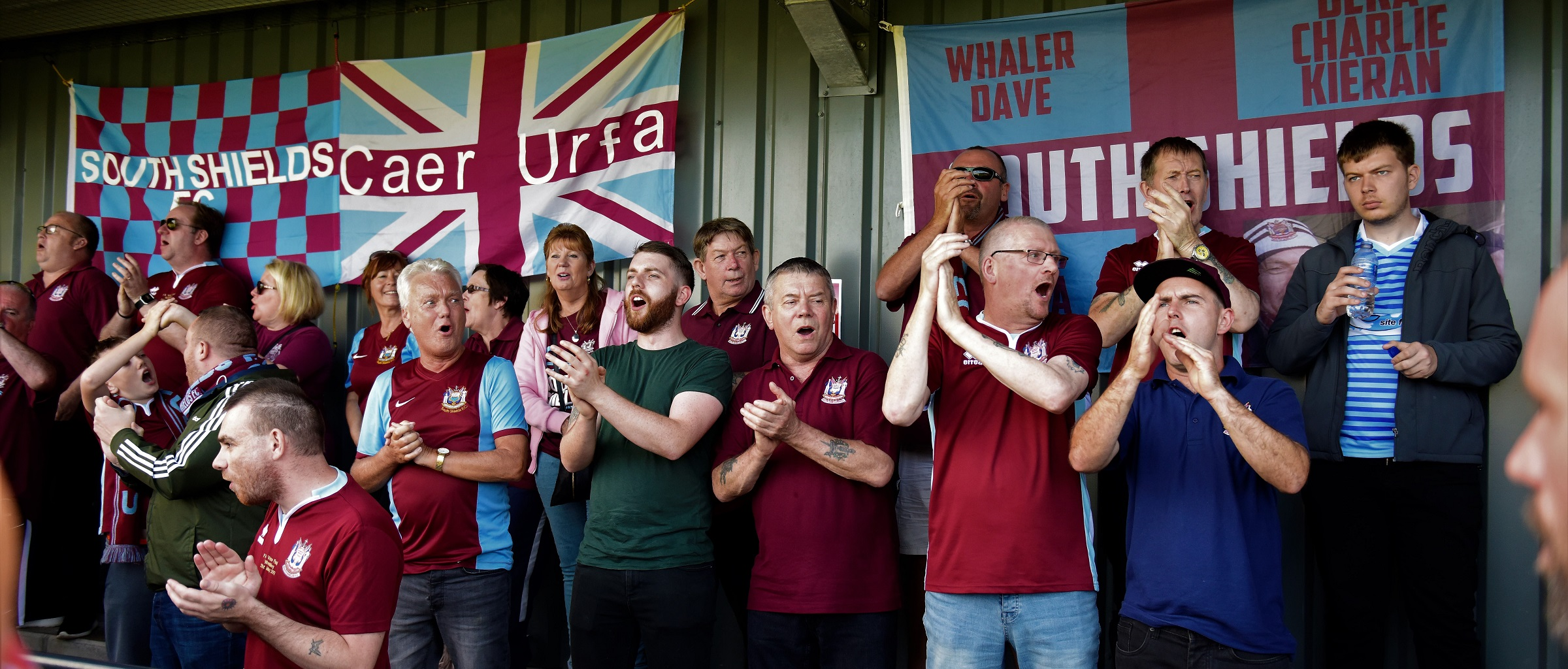 Witton Albion vs South Shields: Segregation at Emirates FA Cup fixture