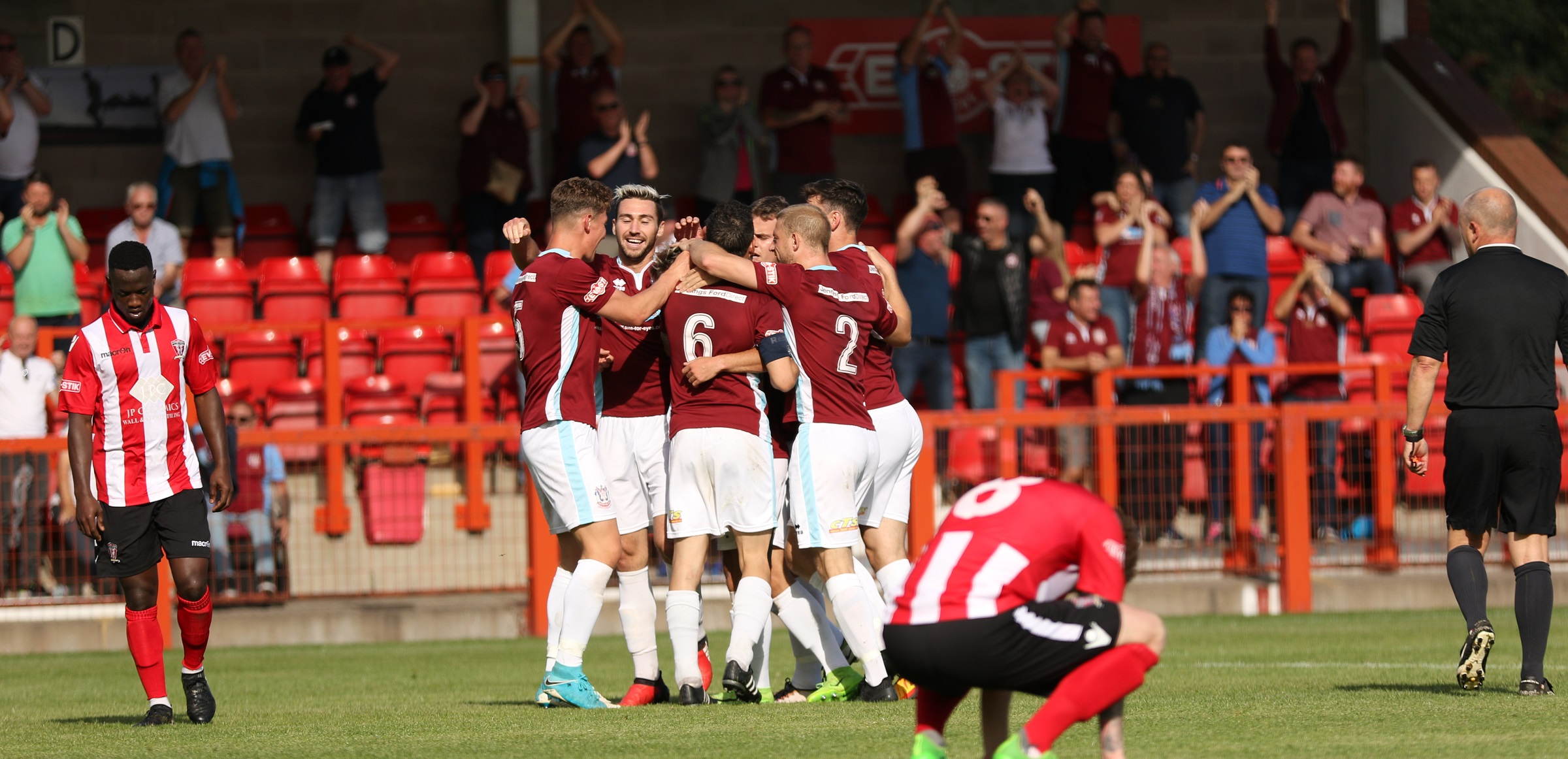 Witton Albion 0-2 South Shields: Holmes double secures cup progress