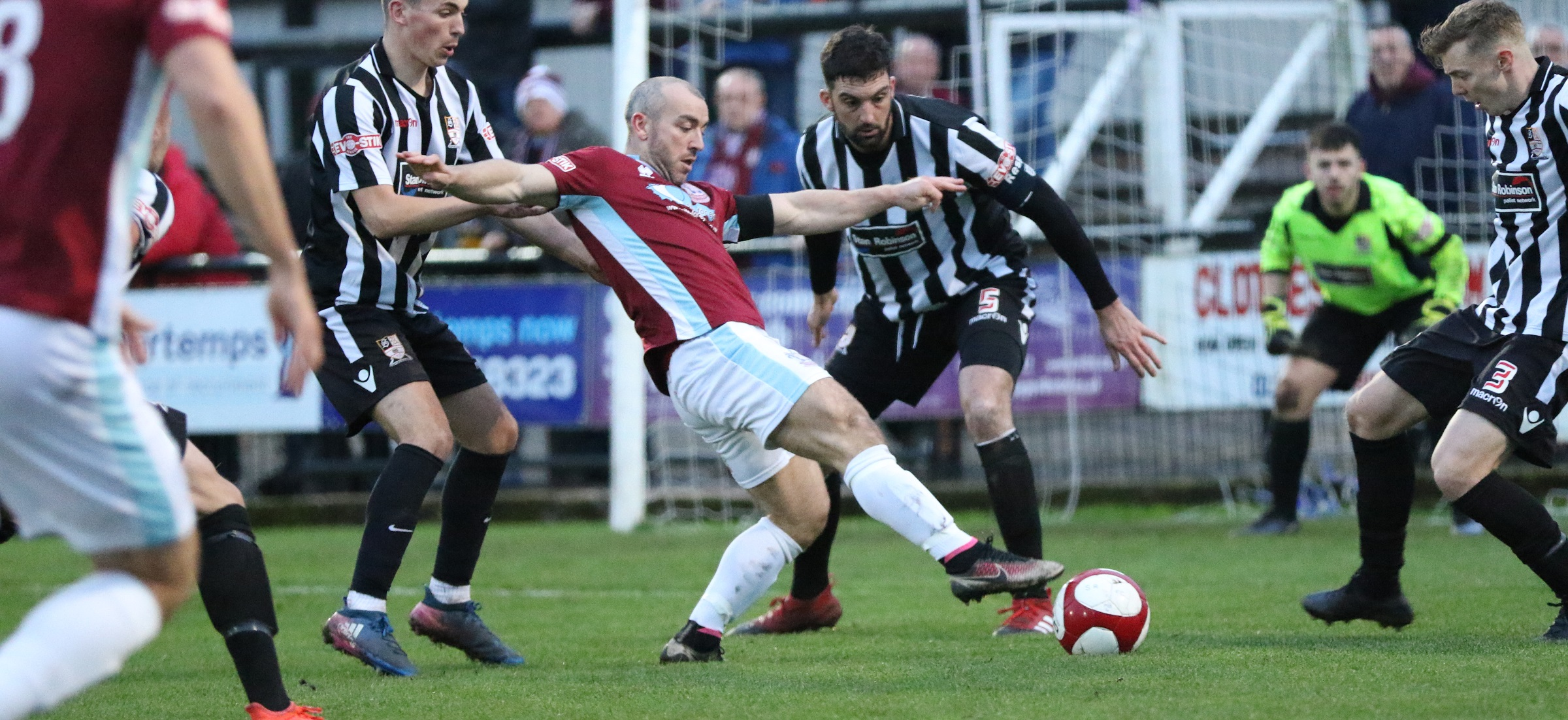 Stafford Rangers 3-1 South Shields: Mariners beaten in FA Trophy