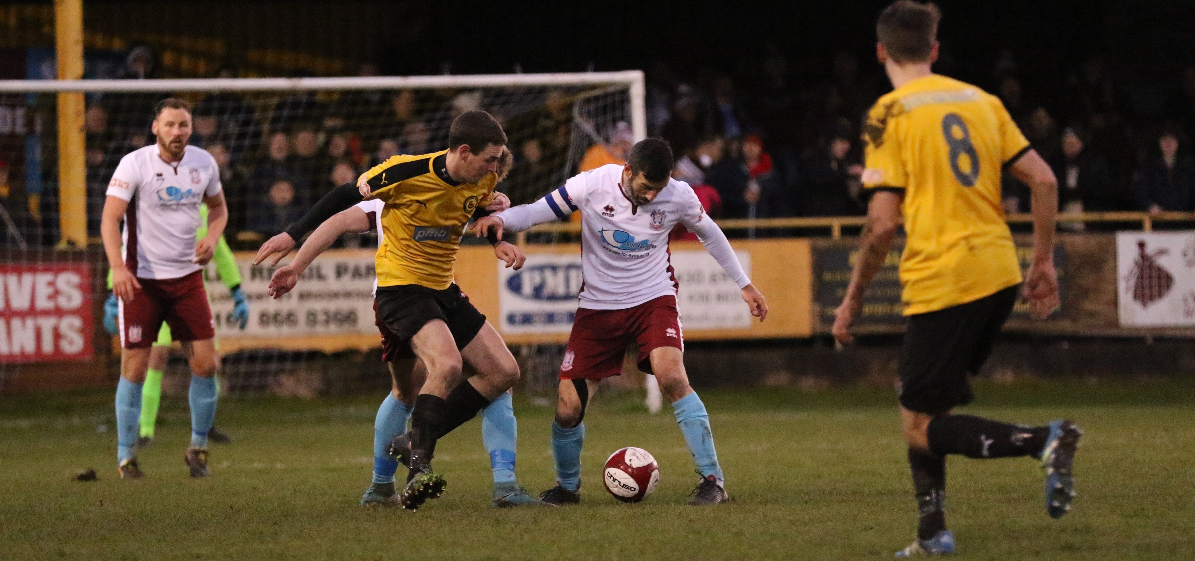 Prescot Cables 0-0 South Shields: Mariners three points clear at top