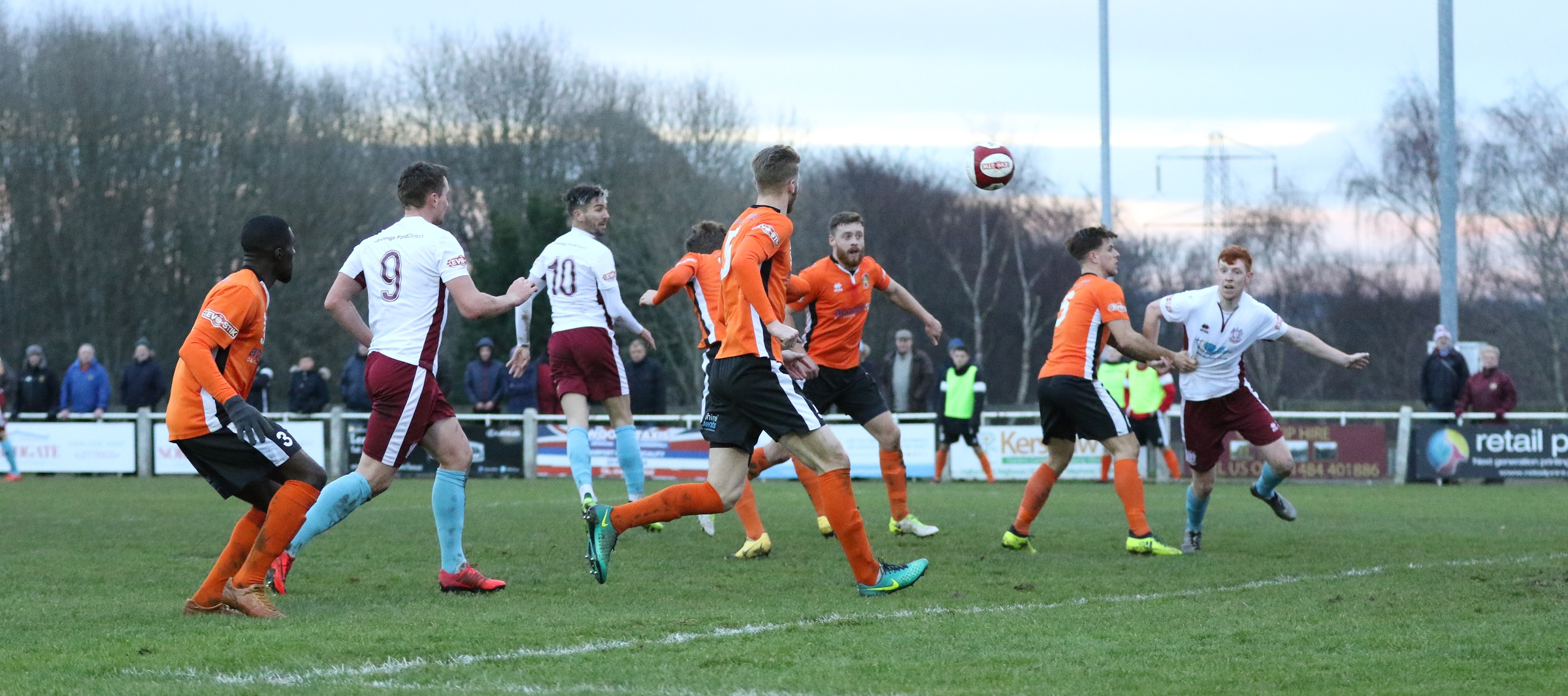 Brighouse Town 1-5 South Shields: Five-star win for Mariners